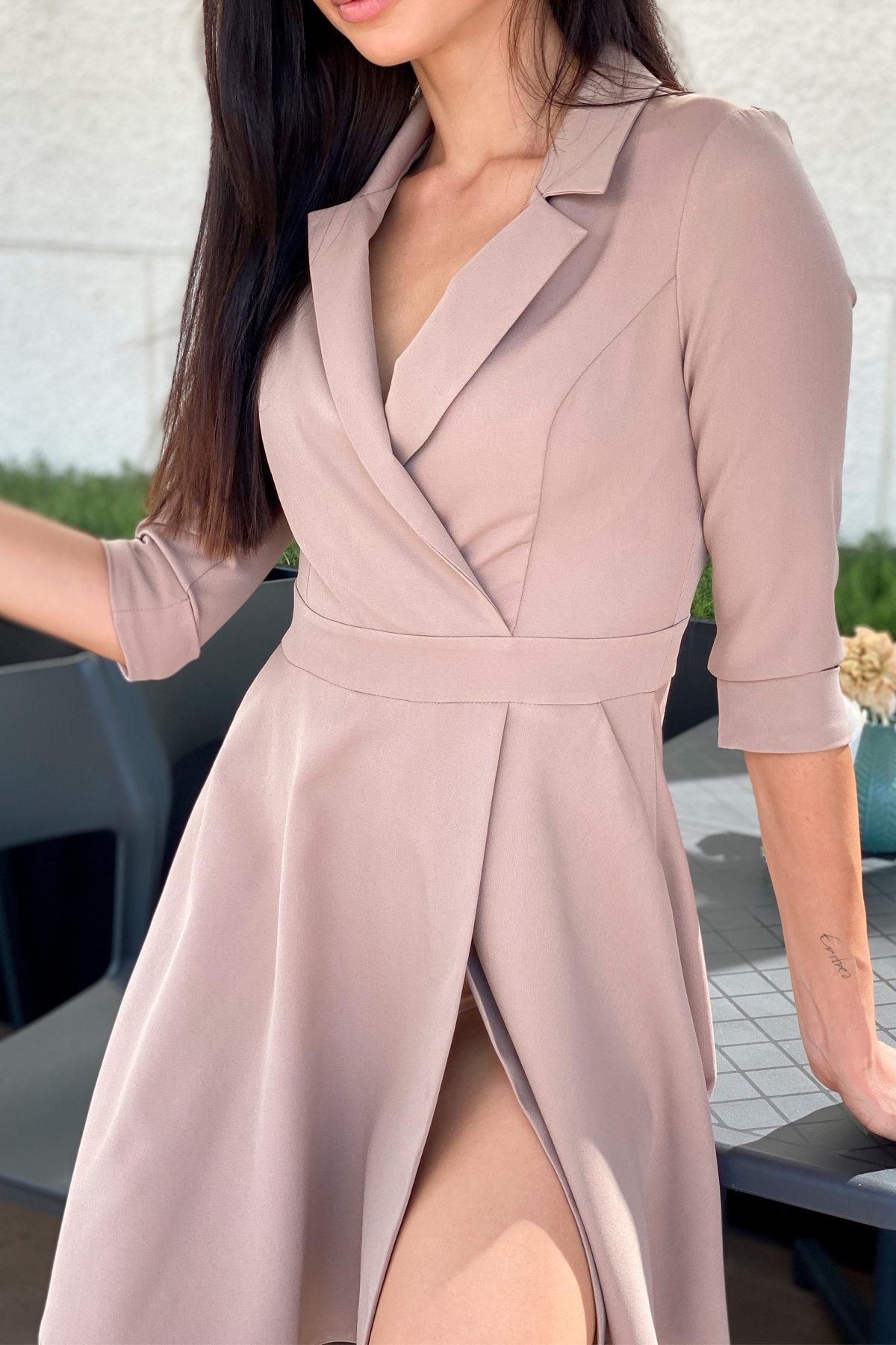 Платье Малья 7678 АРТ. 45991 Цвет: Бежевый Темный - фото 6, интернет магазин tm-modus.ru