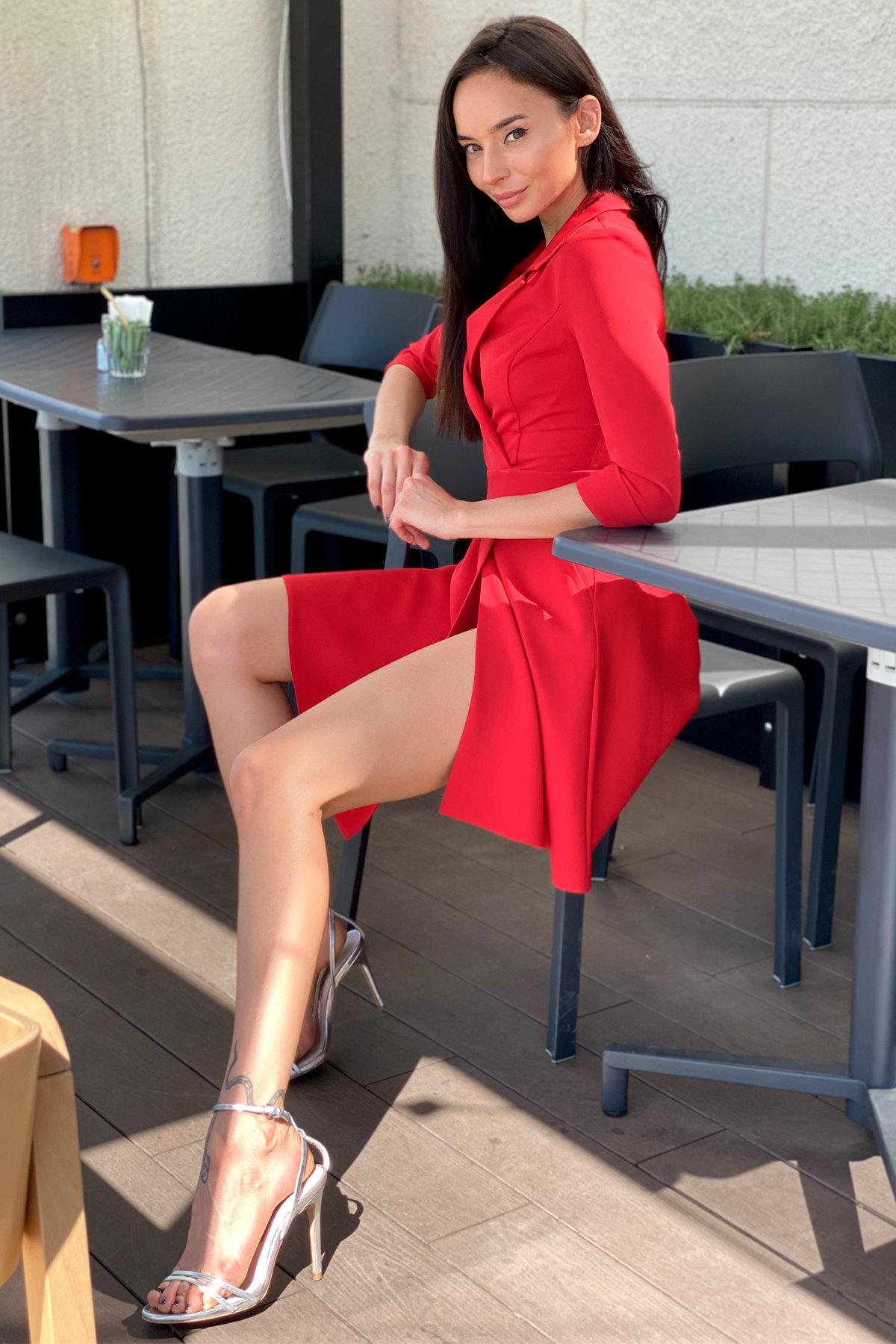 Платье Малья 7678 АРТ. 43600 Цвет: Красный - фото 10, интернет магазин tm-modus.ru