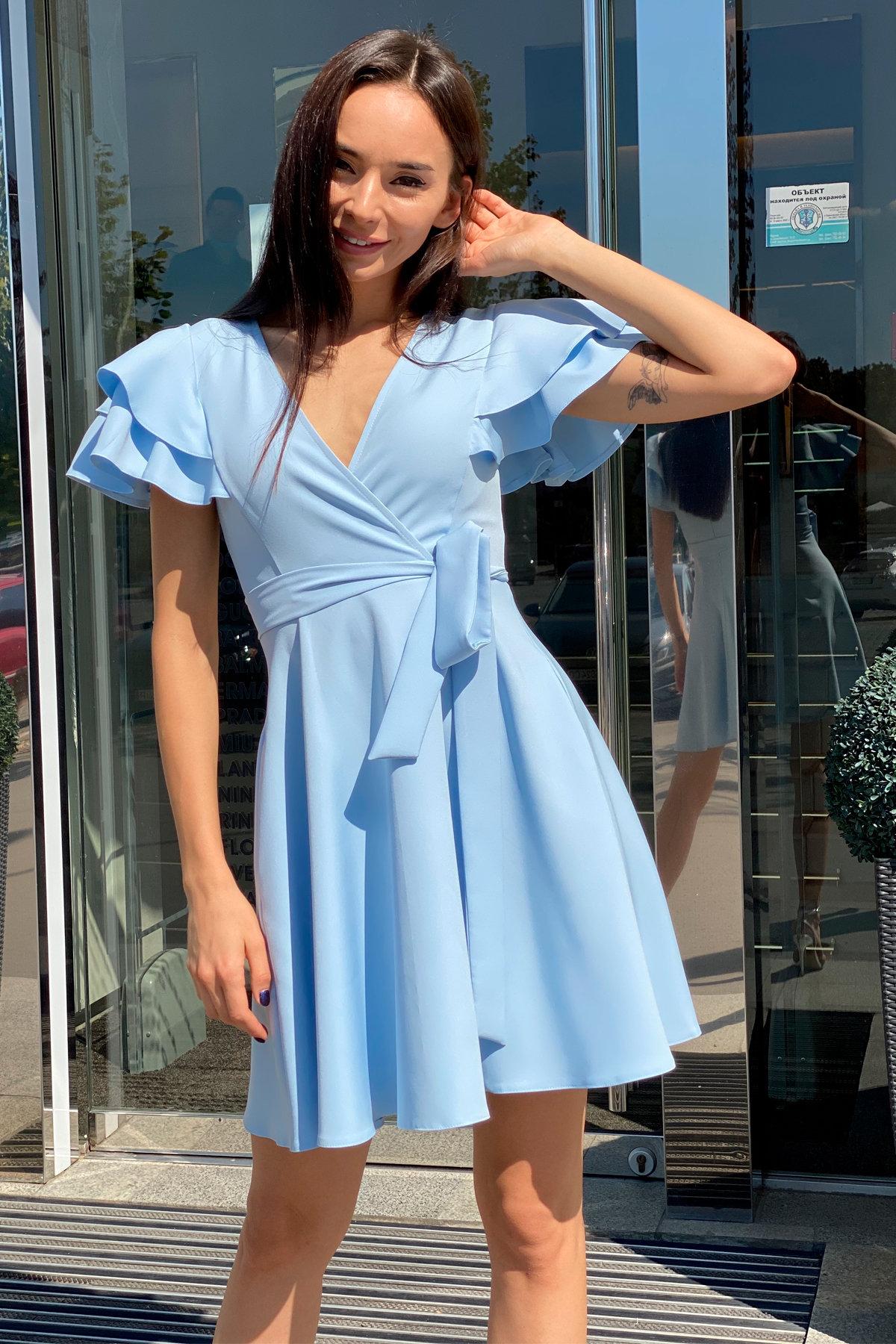 Милея костюмка креп платье 9649