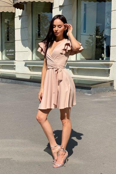 Купить Милея костюмка креп платье 9649 оптом и в розницу