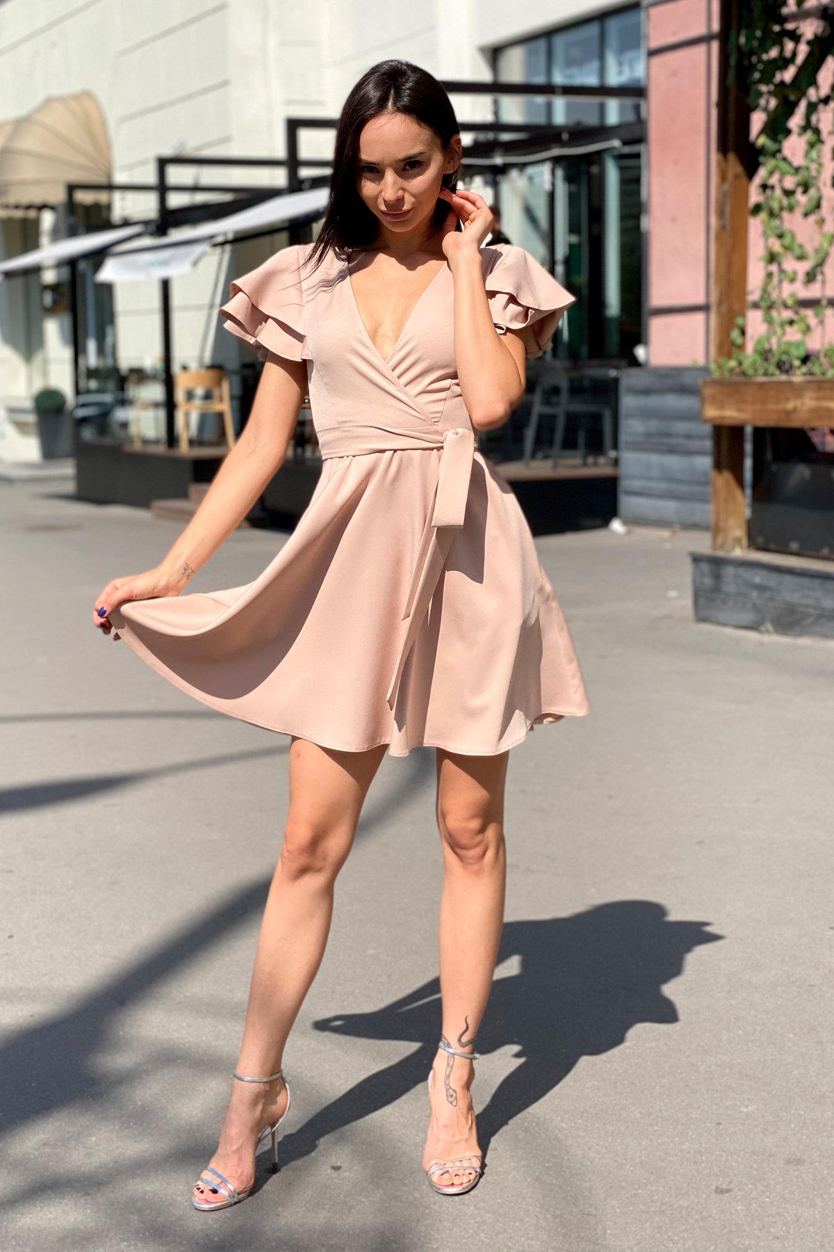 Платье Милея 9649 АРТ. 45969 Цвет: Бежевый - фото 10, интернет магазин tm-modus.ru