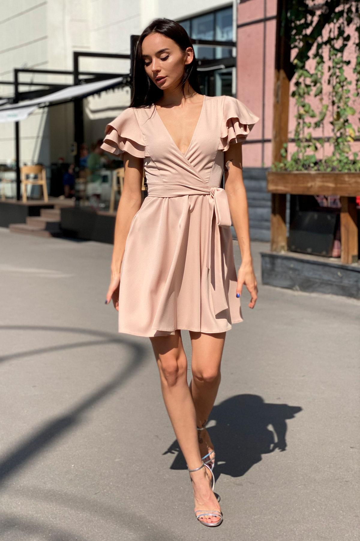 Платье Милея 9649 АРТ. 45969 Цвет: Бежевый - фото 12, интернет магазин tm-modus.ru
