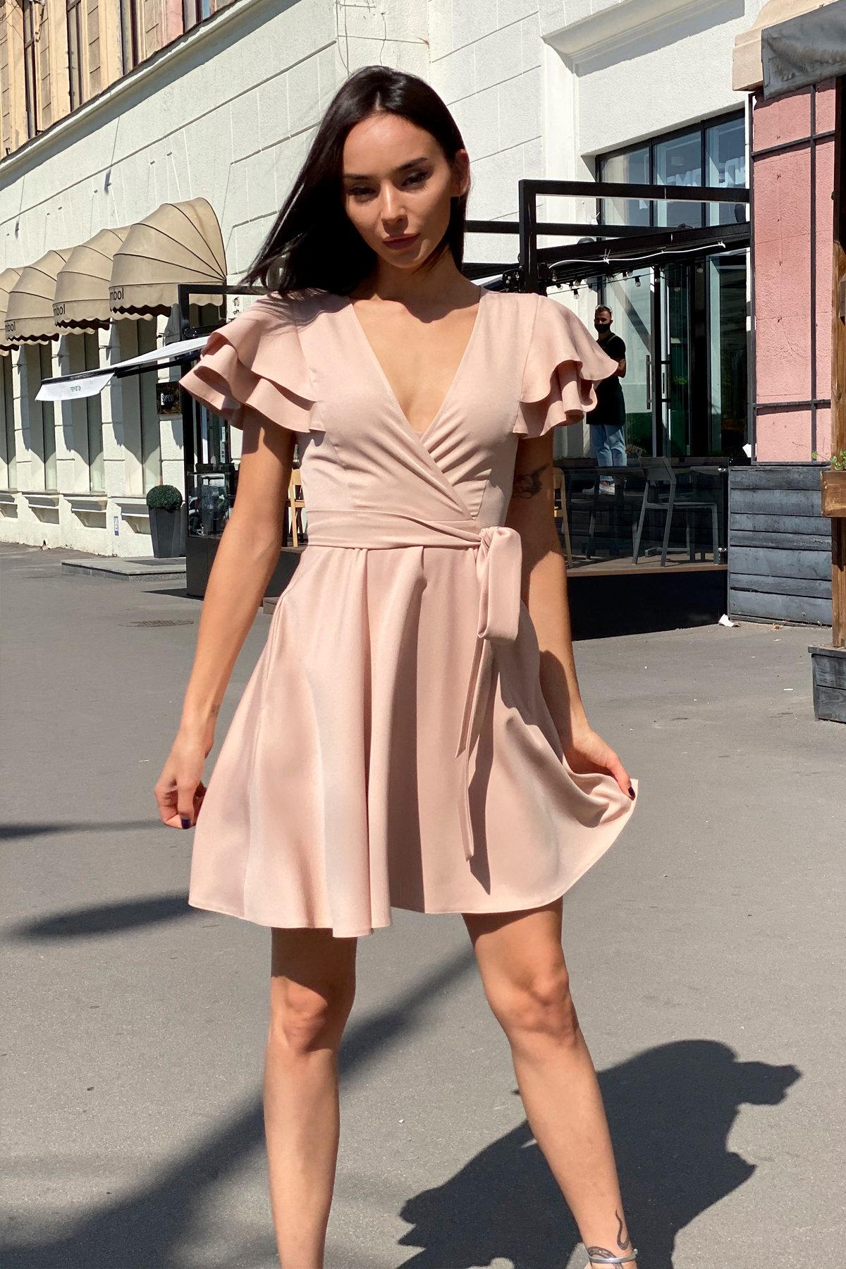 Платье Милея 9649 АРТ. 45969 Цвет: Бежевый - фото 13, интернет магазин tm-modus.ru