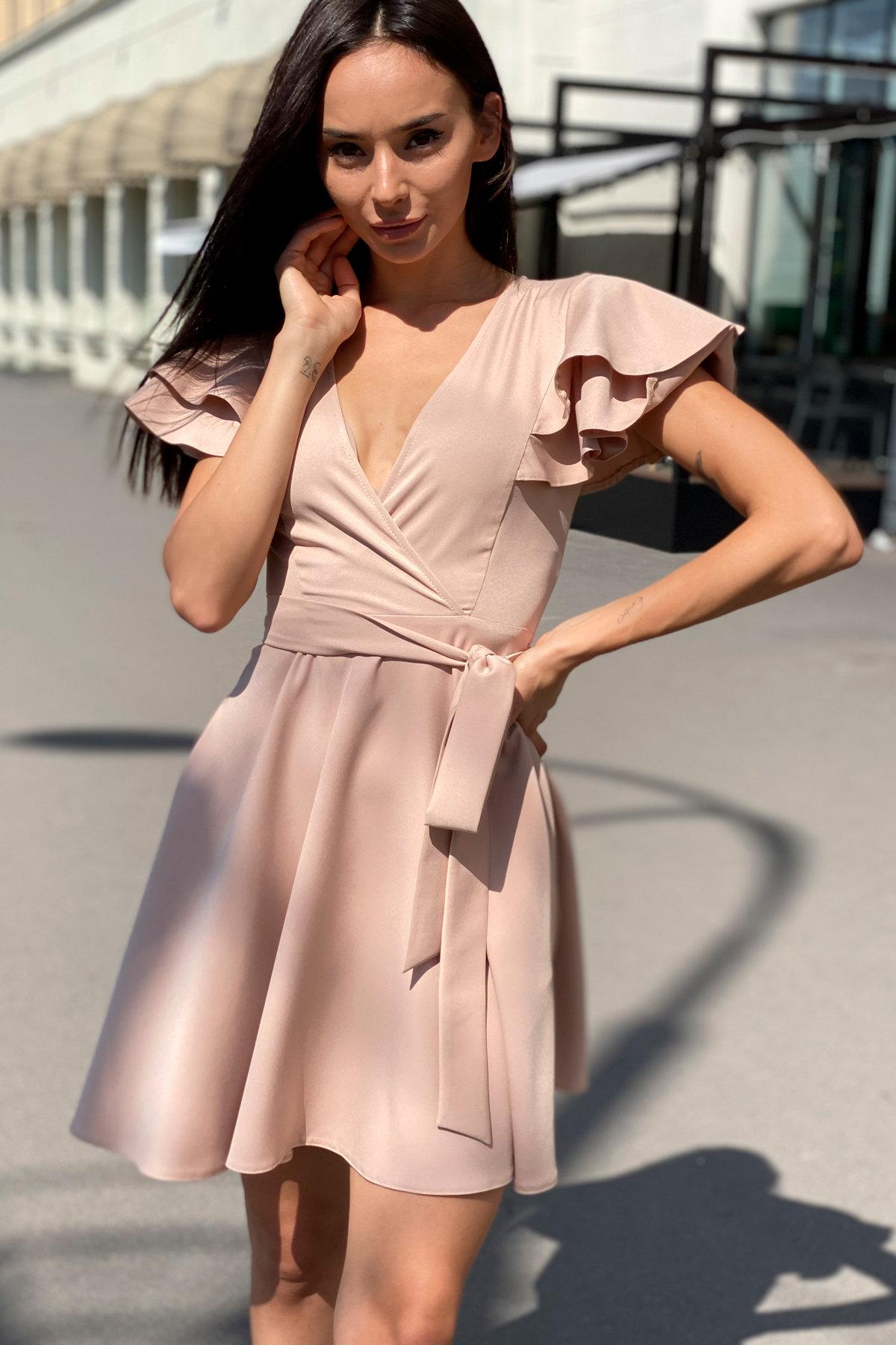 Платье Милея 9649 АРТ. 45969 Цвет: Бежевый - фото 14, интернет магазин tm-modus.ru