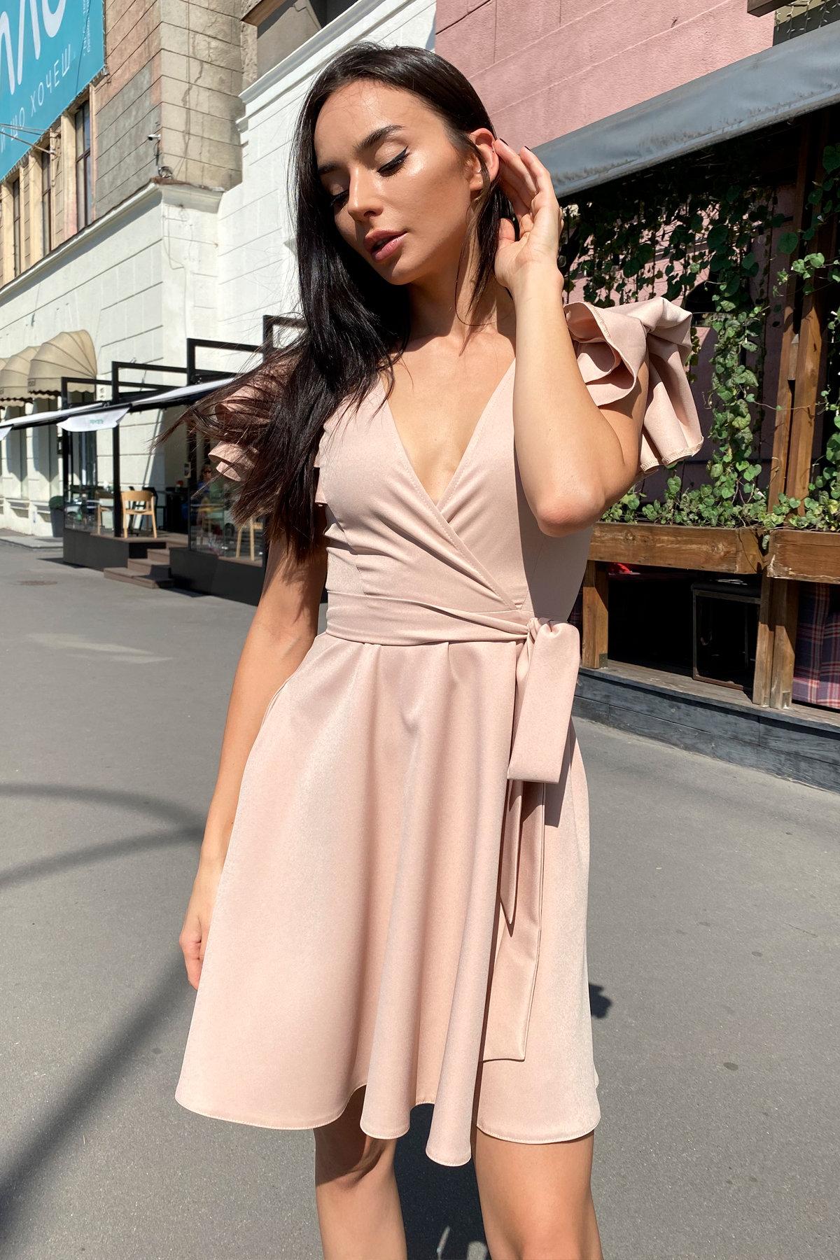 Платье Милея 9649 АРТ. 45969 Цвет: Бежевый - фото 15, интернет магазин tm-modus.ru