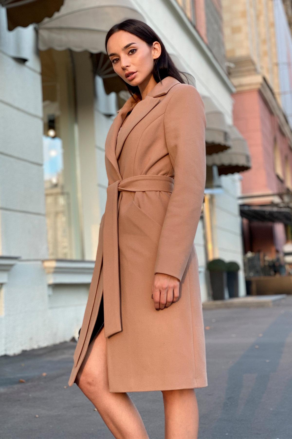 Пальто Сенсей 9006 АРТ. 45318 Цвет: Кемел - фото 4, интернет магазин tm-modus.ru