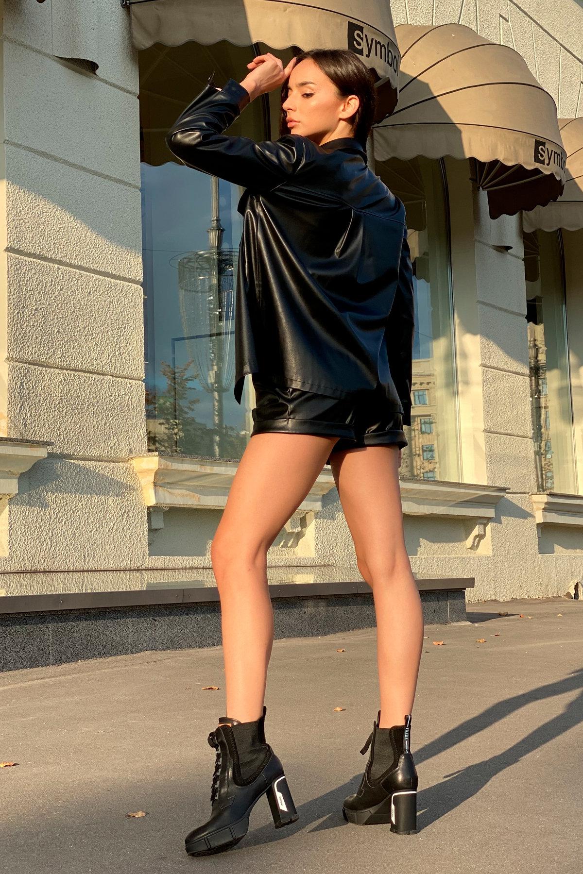 Рубашка Телави 9731 АРТ. 46033 Цвет: Чёрный - фото 8, интернет магазин tm-modus.ru