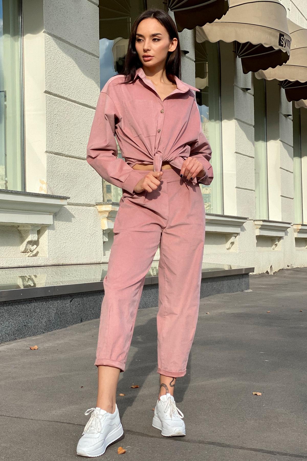 Браво микровельвет костюм 9695 АРТ. 46000 Цвет: Пудра - фото 5, интернет магазин tm-modus.ru
