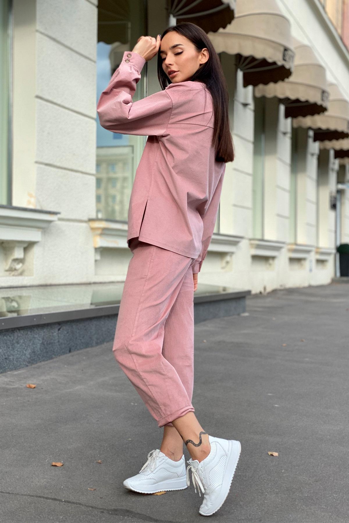 Браво микровельвет костюм 9695 АРТ. 46000 Цвет: Пудра - фото 9, интернет магазин tm-modus.ru