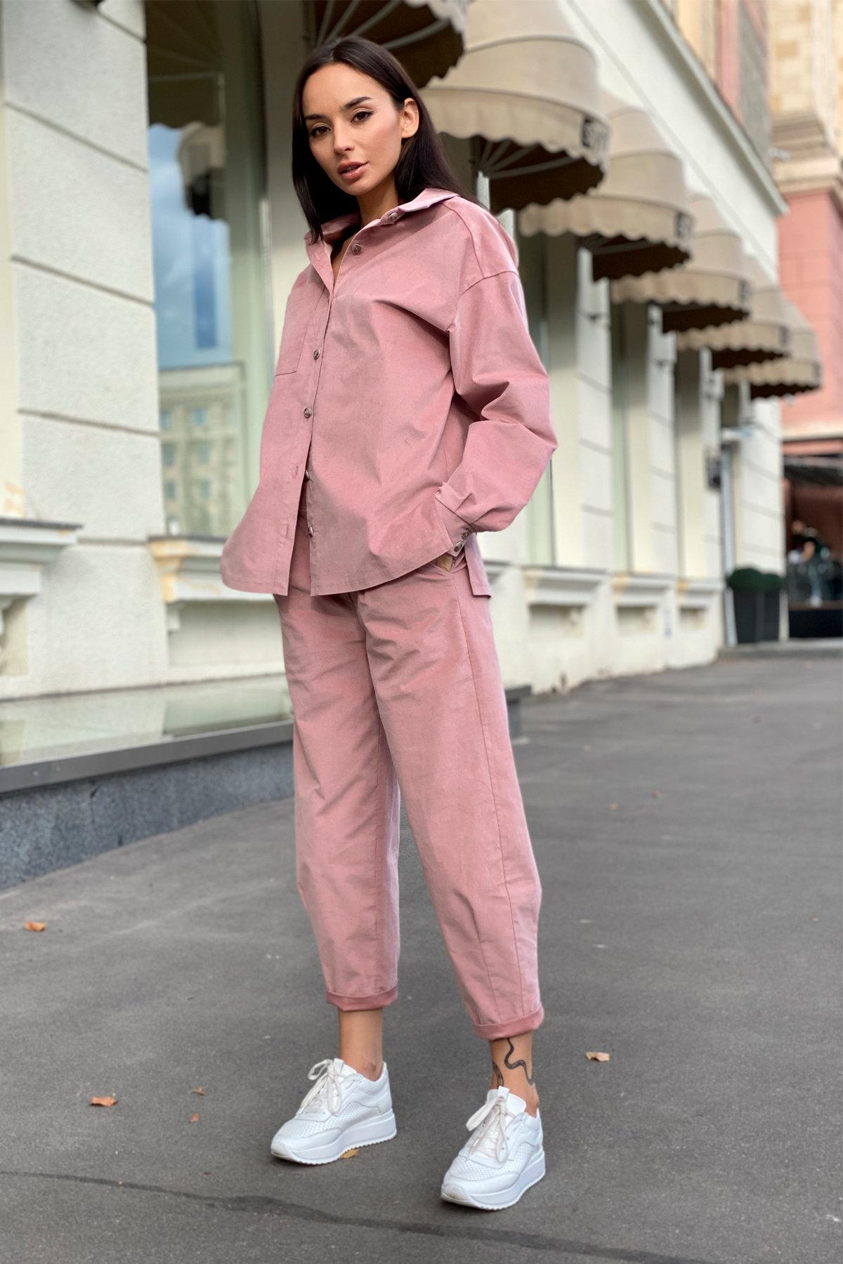 Браво микровельвет костюм 9695 АРТ. 46000 Цвет: Пудра - фото 10, интернет магазин tm-modus.ru