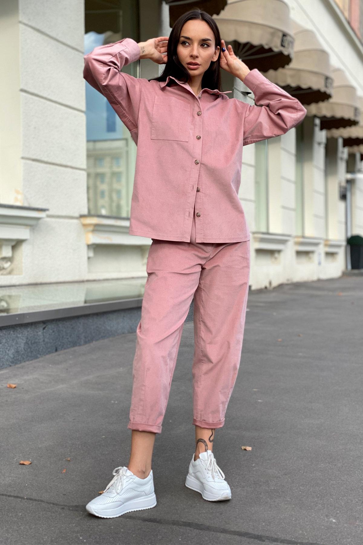 Браво микровельвет костюм 9695 АРТ. 46000 Цвет: Пудра - фото 11, интернет магазин tm-modus.ru