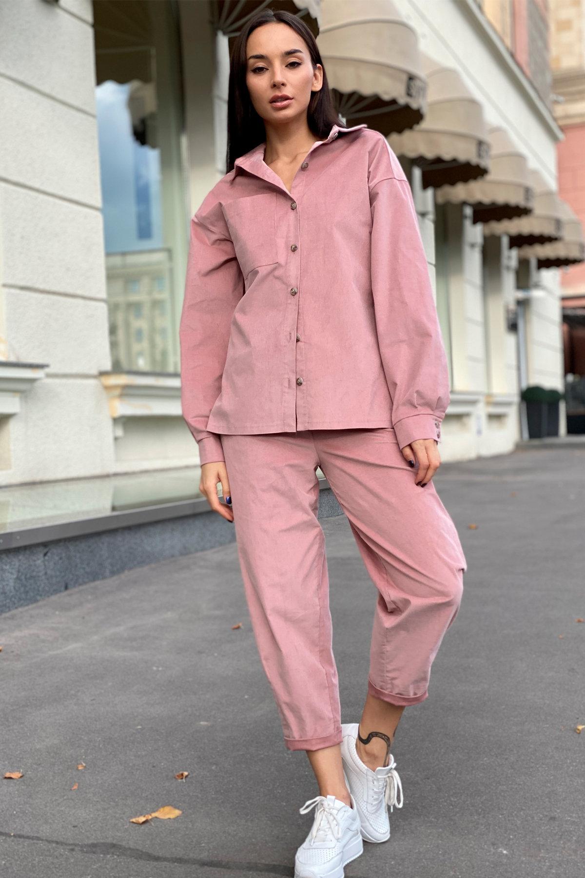 Браво микровельвет костюм 9695 АРТ. 46000 Цвет: Пудра - фото 12, интернет магазин tm-modus.ru