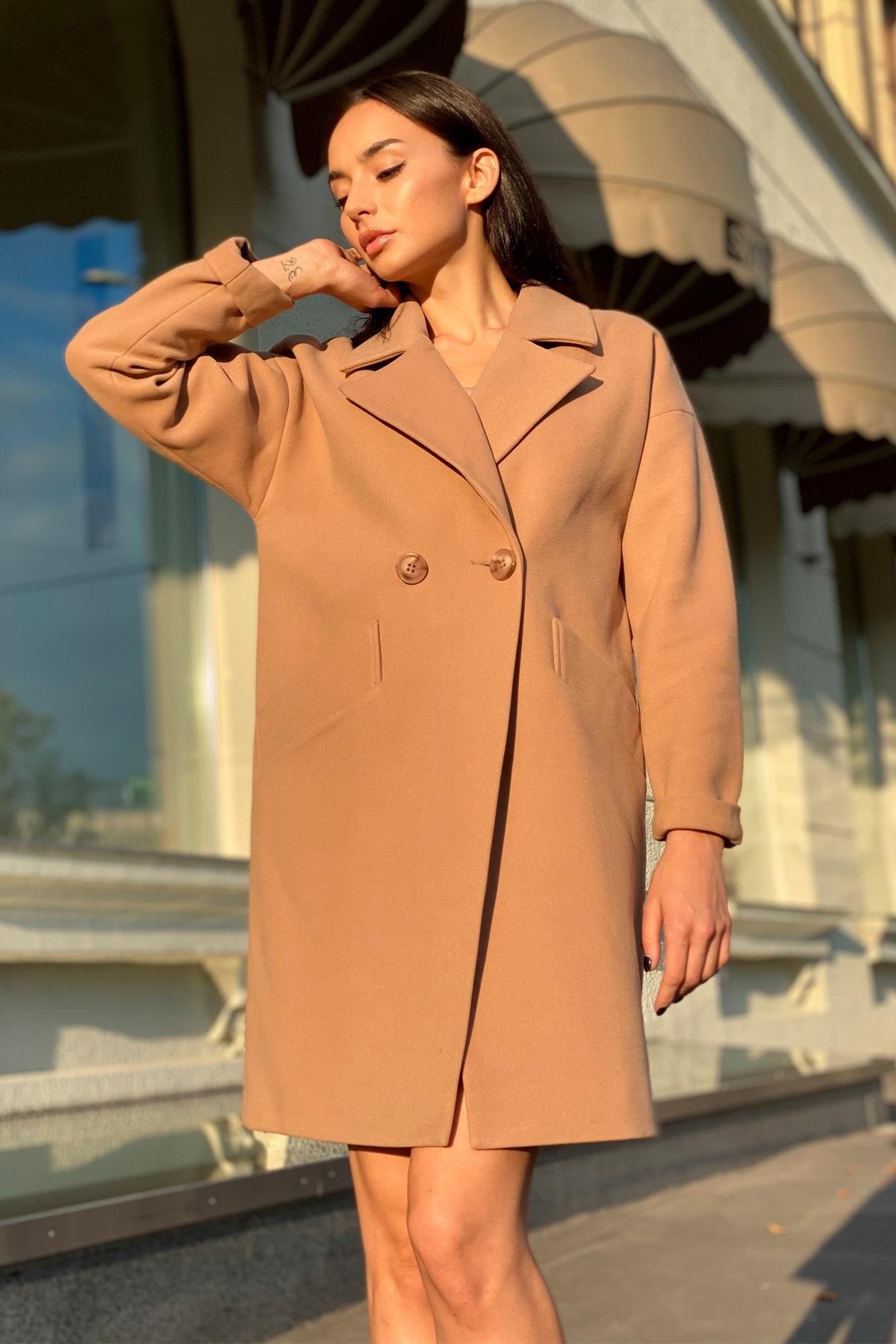 Пальто Сенсей 9006 АРТ. 45318 Цвет: Кемел - фото 1, интернет магазин tm-modus.ru