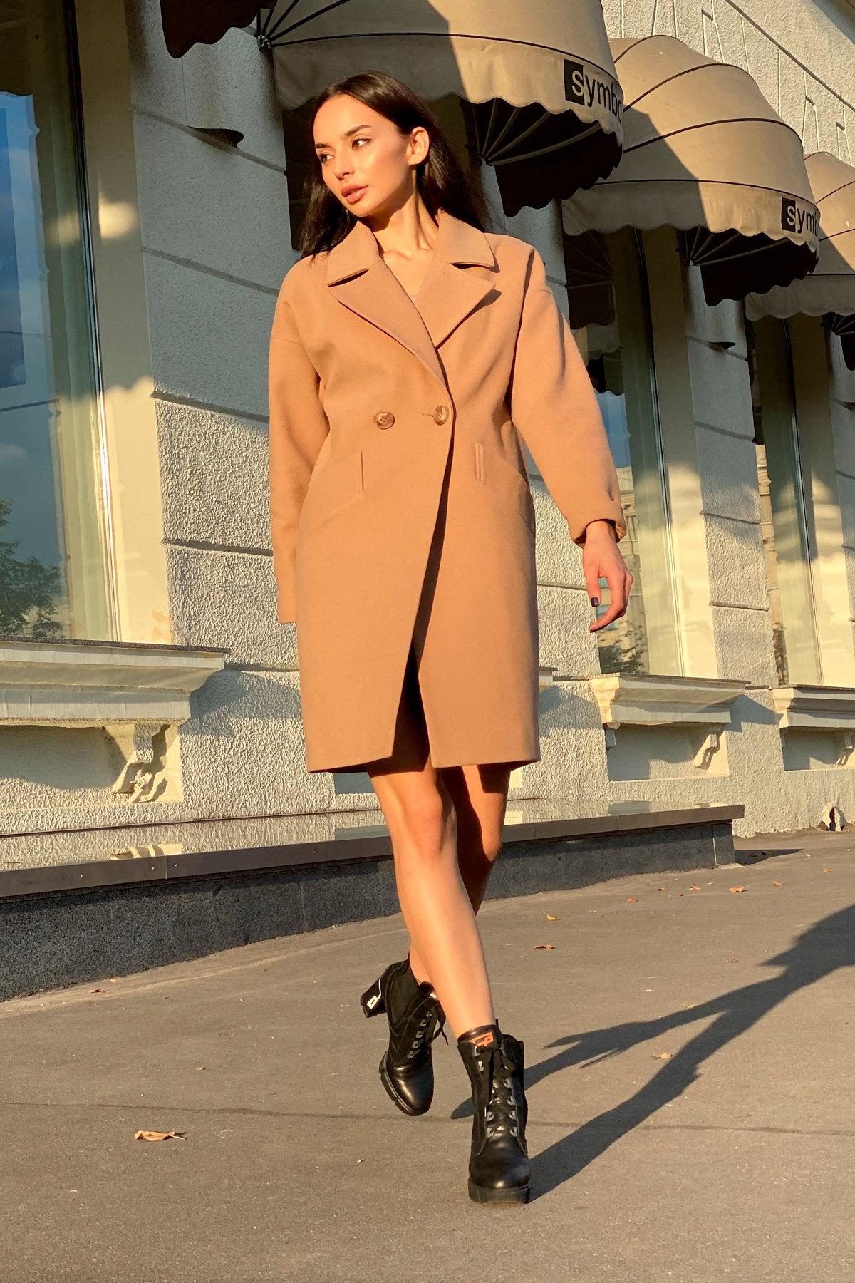 Пальто Сенсей 9006 АРТ. 45318 Цвет: Кемел - фото 2, интернет магазин tm-modus.ru