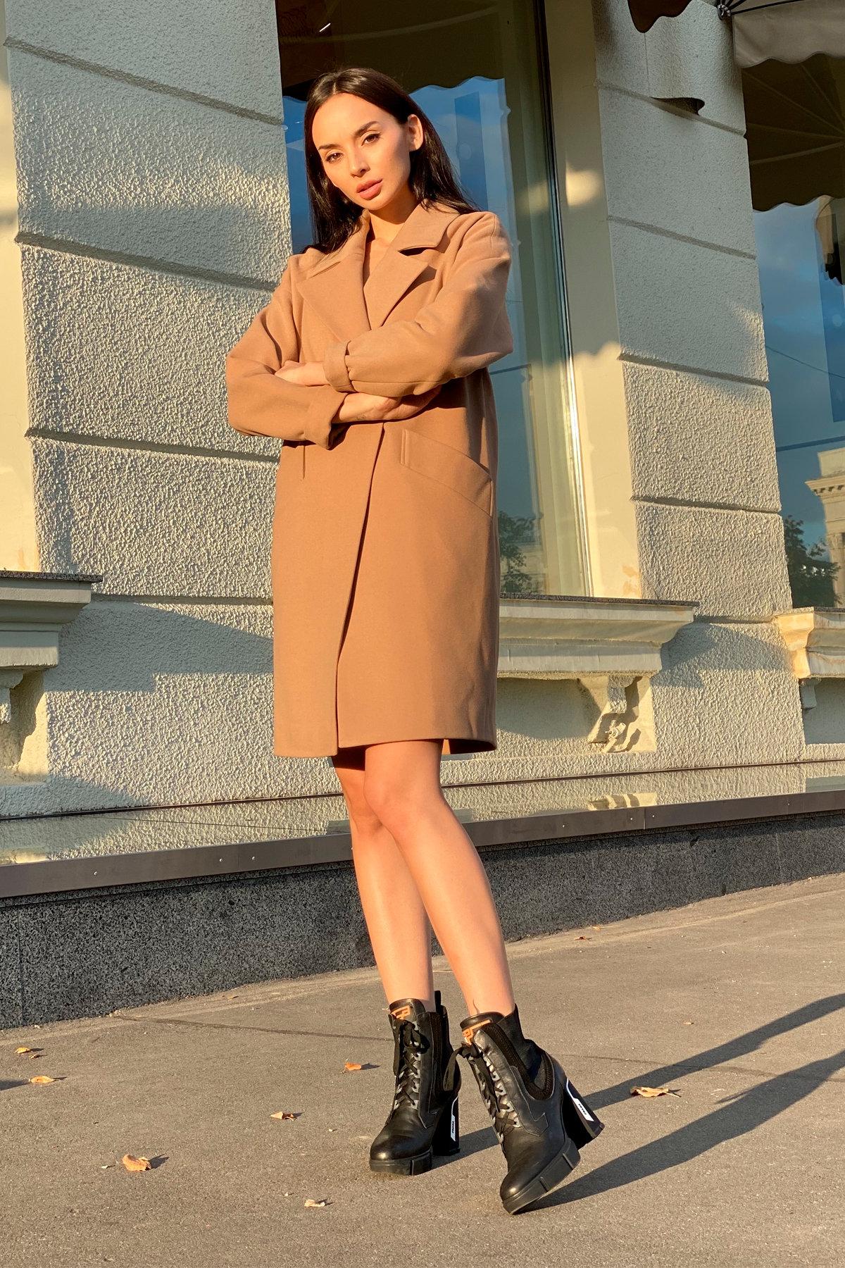 Пальто Сенсей 9006 АРТ. 45318 Цвет: Кемел - фото 7, интернет магазин tm-modus.ru