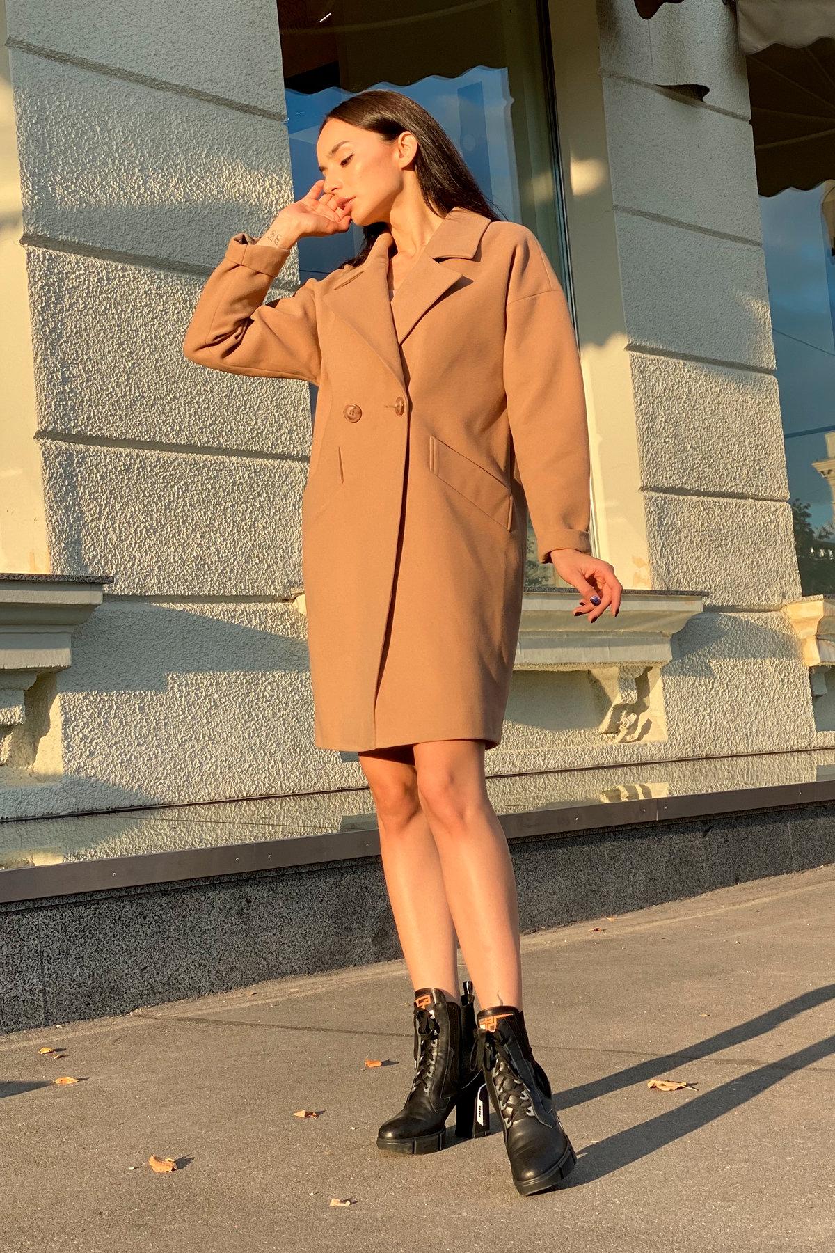 Пальто Сенсей 9006 АРТ. 45318 Цвет: Кемел - фото 9, интернет магазин tm-modus.ru