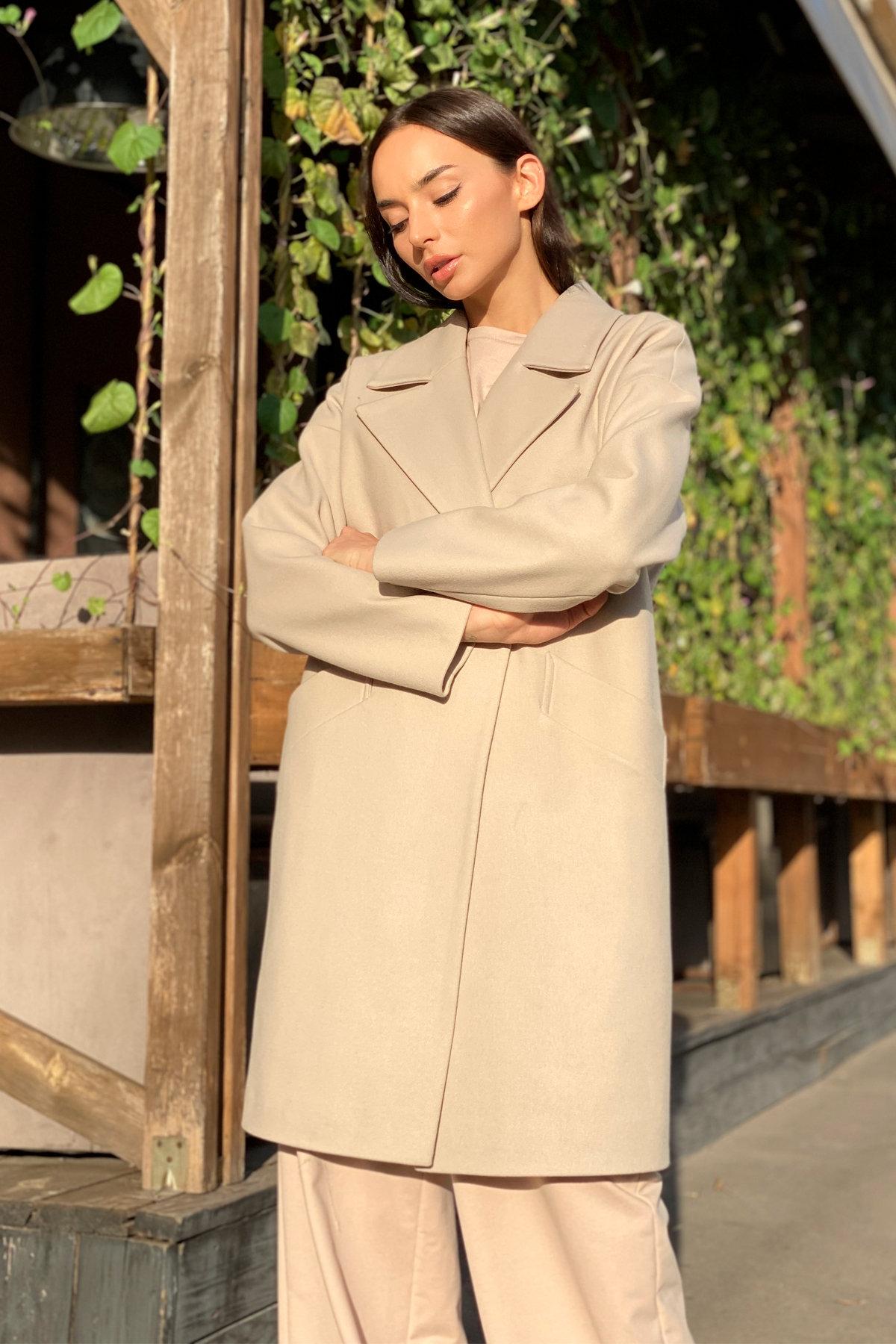 Пальто Сенсей 9006 АРТ. 45312 Цвет: Бежевый - фото 2, интернет магазин tm-modus.ru