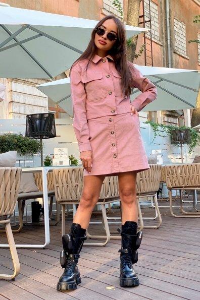 Купить Ньюарк микровельвет юбка 9681 оптом и в розницу