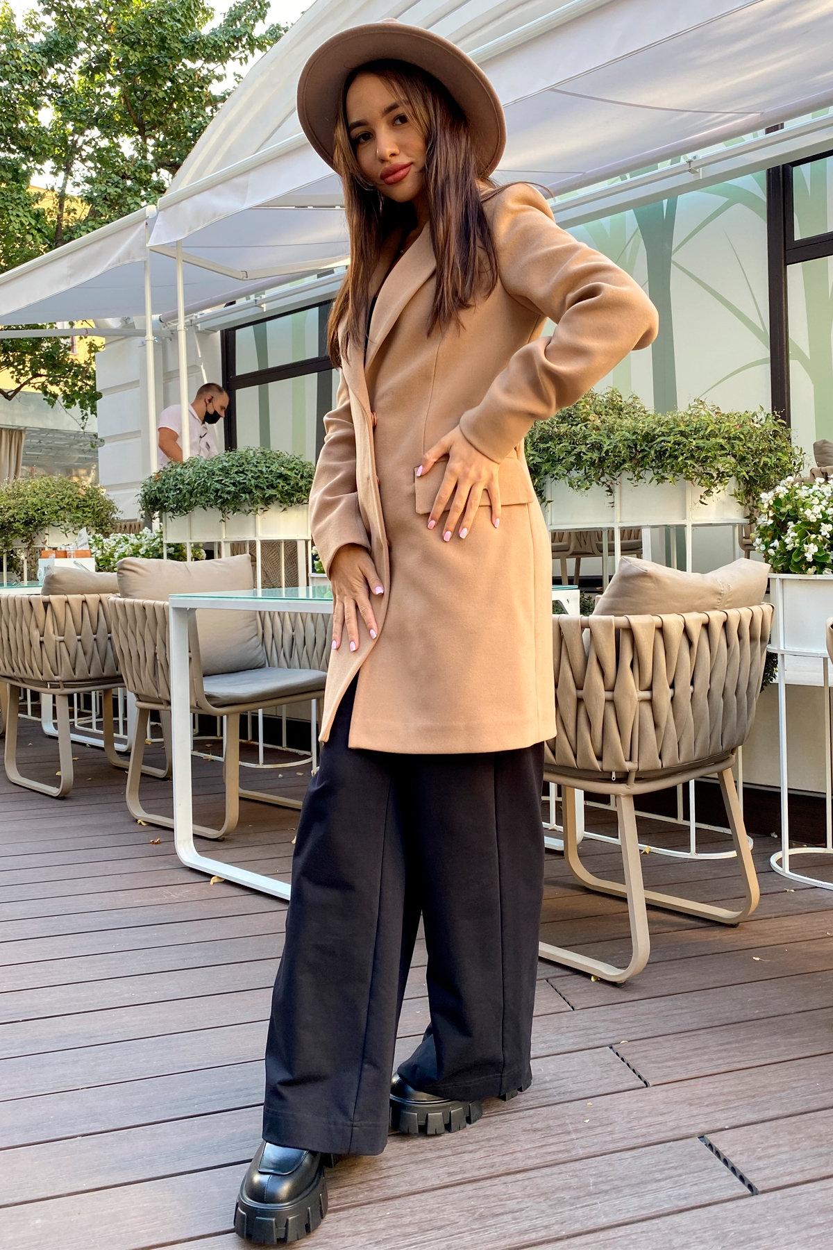 Корси пальтовая ткань кашемир турция пальто 9758 АРТ. 46054 Цвет: Кемел - фото 1, интернет магазин tm-modus.ru