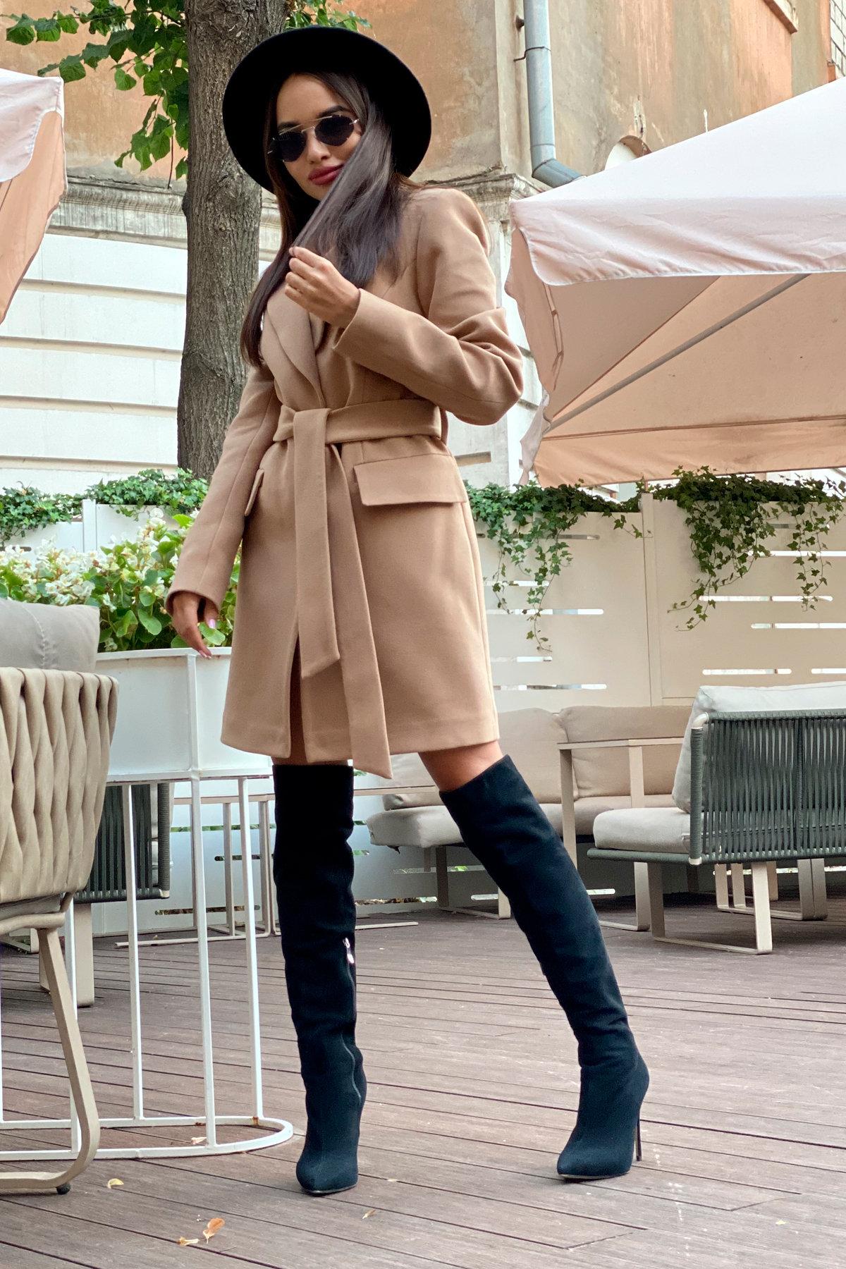 Корси пальтовая ткань кашемир турция пальто 9758 АРТ. 46054 Цвет: Кемел - фото 6, интернет магазин tm-modus.ru