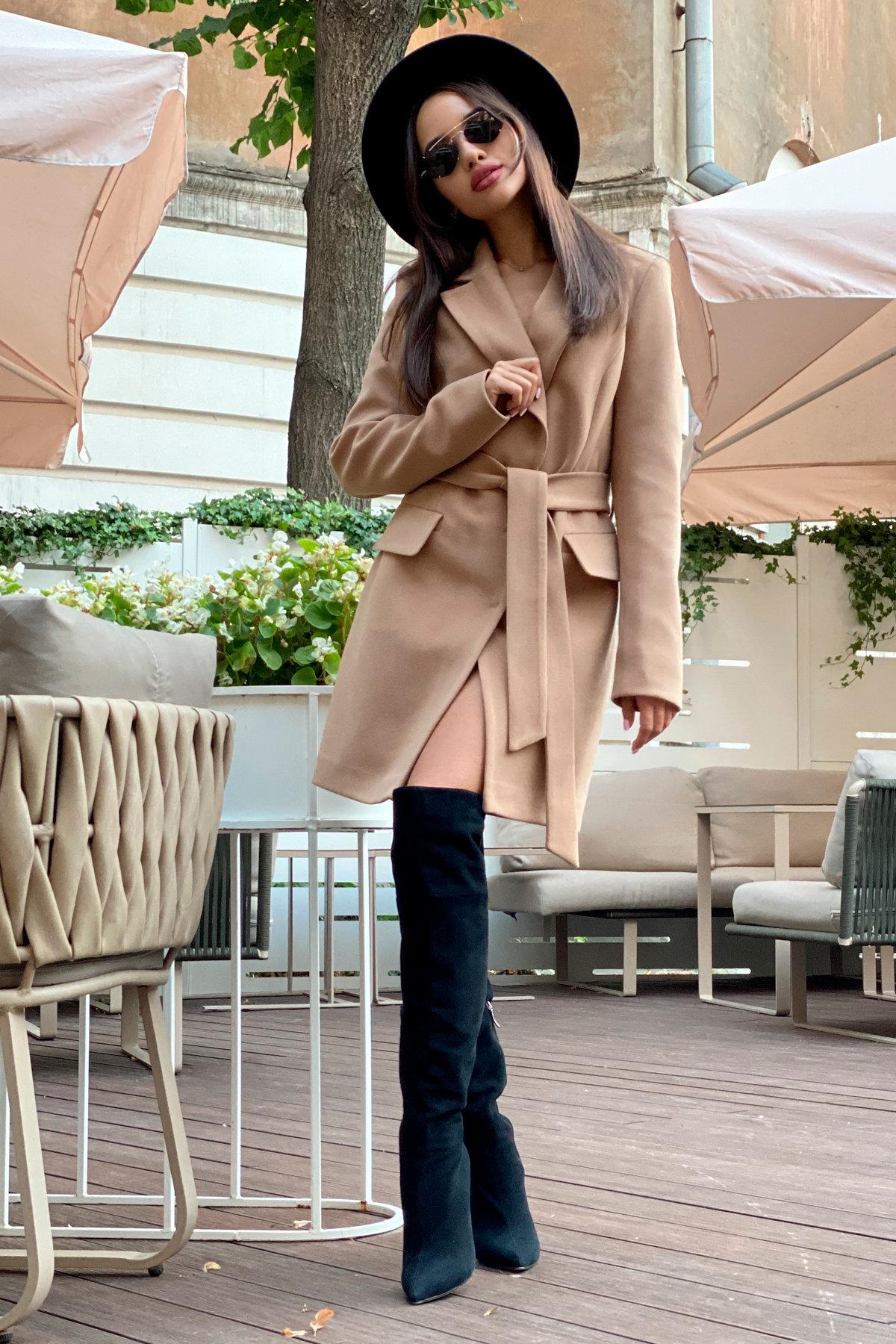 Корси пальтовая ткань кашемир турция пальто 9758 АРТ. 46054 Цвет: Кемел - фото 9, интернет магазин tm-modus.ru