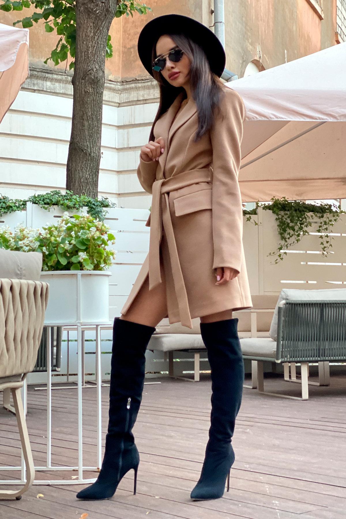 Корси пальтовая ткань кашемир турция пальто 9758 АРТ. 46054 Цвет: Кемел - фото 11, интернет магазин tm-modus.ru