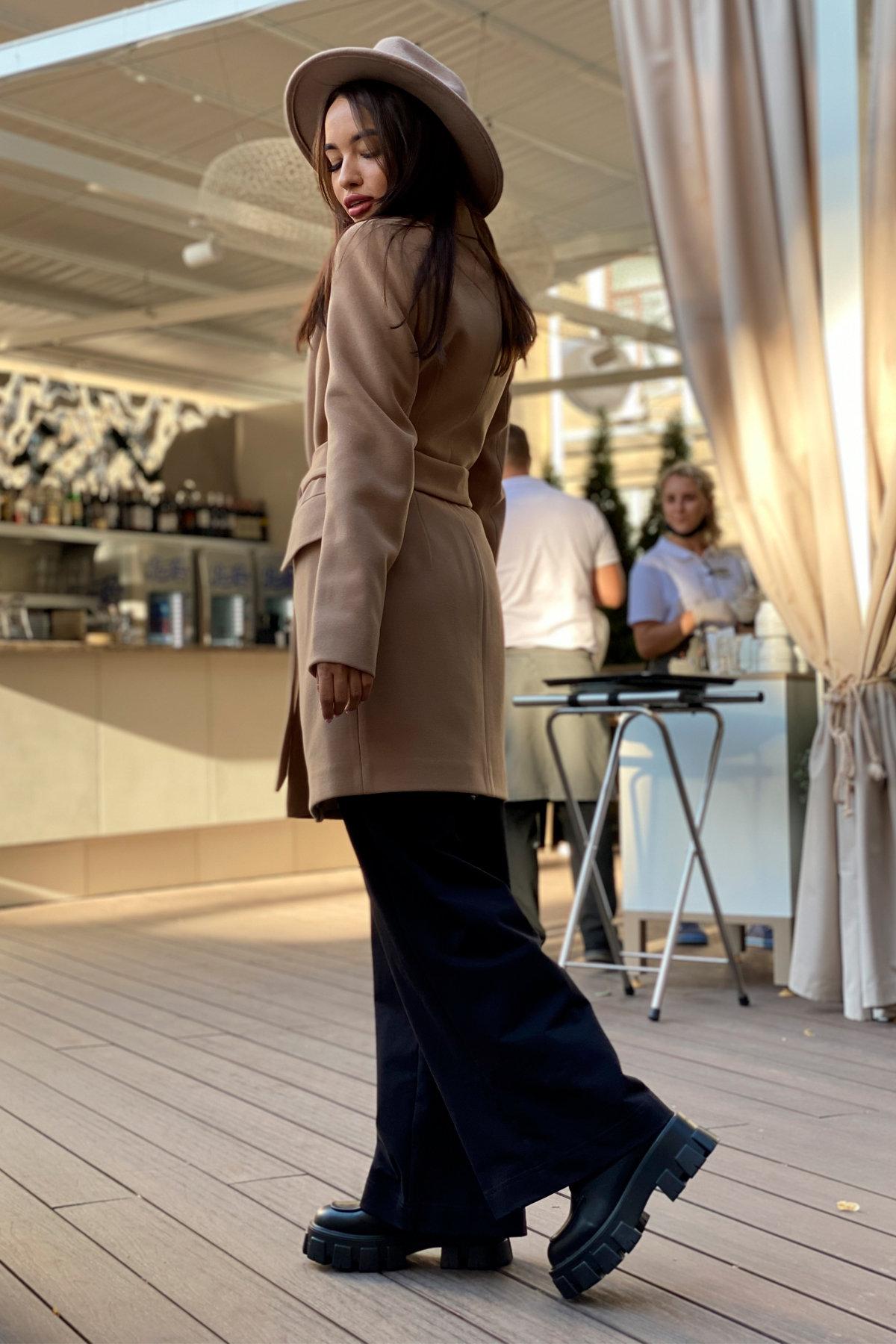 Корси пальтовая ткань кашемир турция пальто 9758 АРТ. 46054 Цвет: Кемел - фото 13, интернет магазин tm-modus.ru