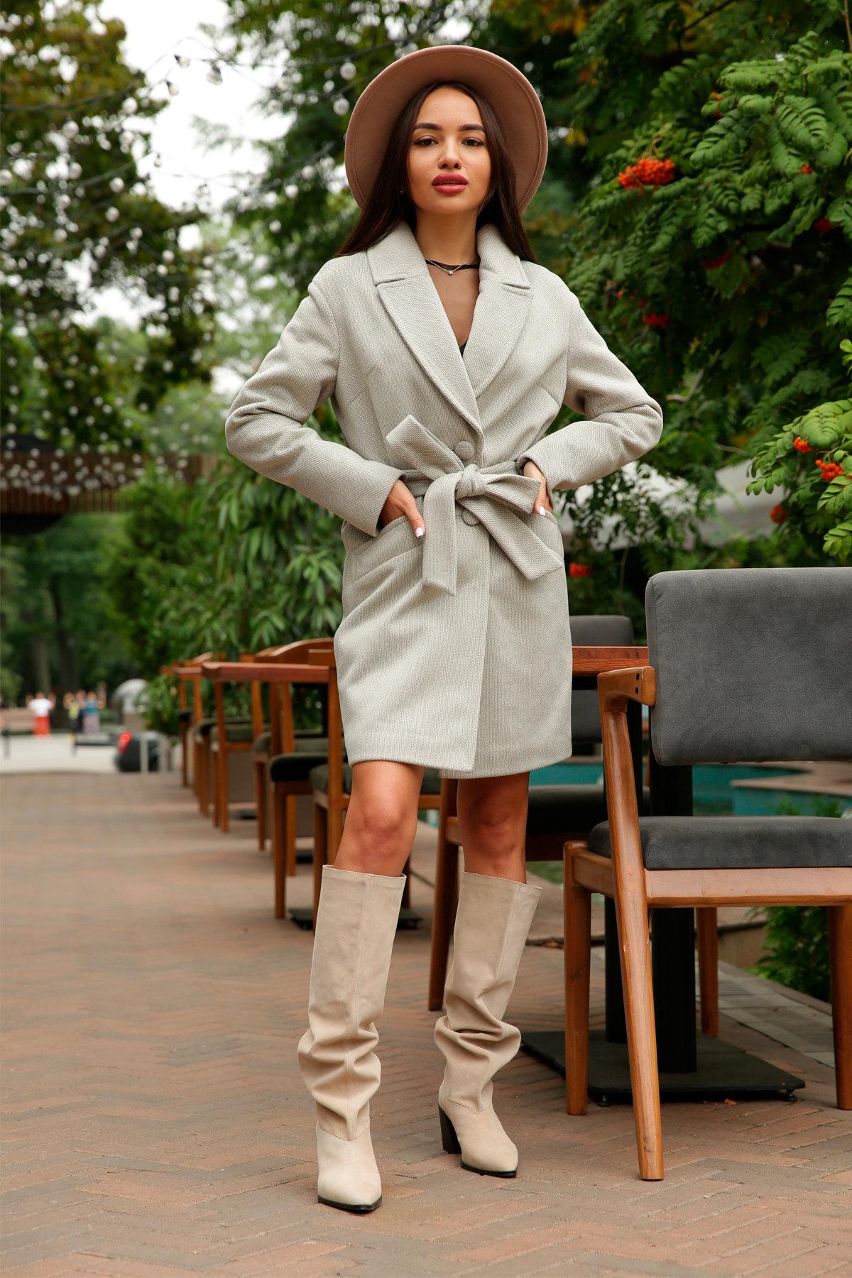 Кашемировое пальто Вейсона 8803 АРТ. 45175 Цвет: Олива - фото 8, интернет магазин tm-modus.ru