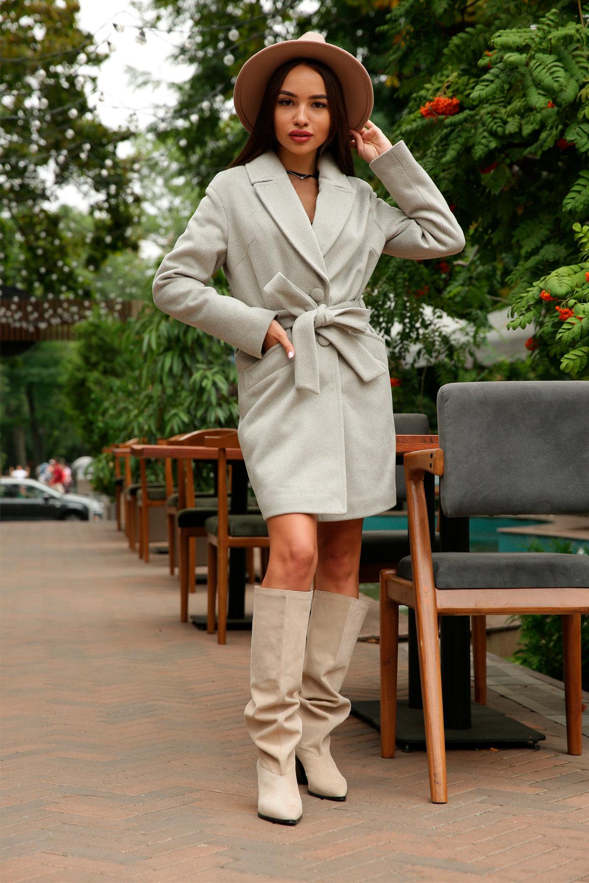 Кашемировое пальто Вейсона 8803 АРТ. 45175 Цвет: Олива - фото 11, интернет магазин tm-modus.ru