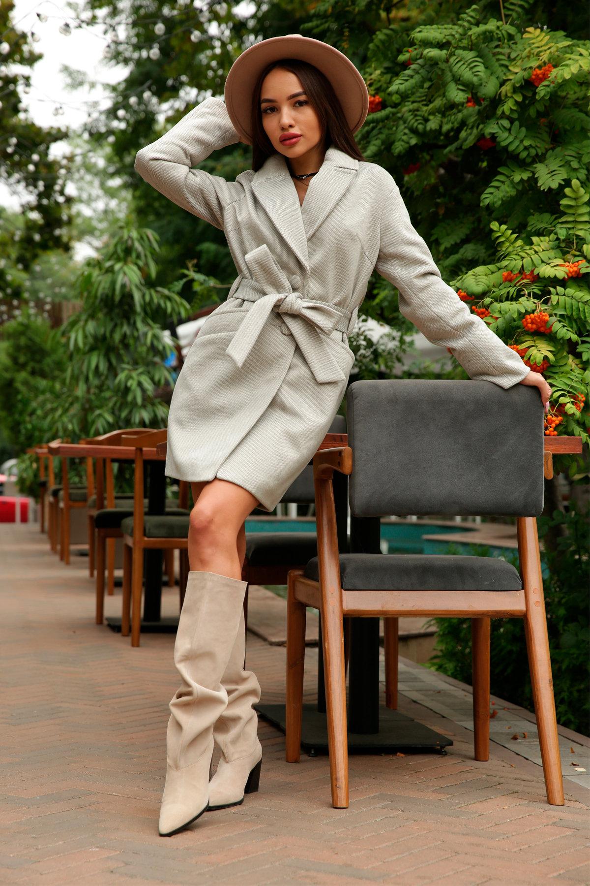 Кашемировое пальто Вейсона 8803 АРТ. 45175 Цвет: Олива - фото 17, интернет магазин tm-modus.ru