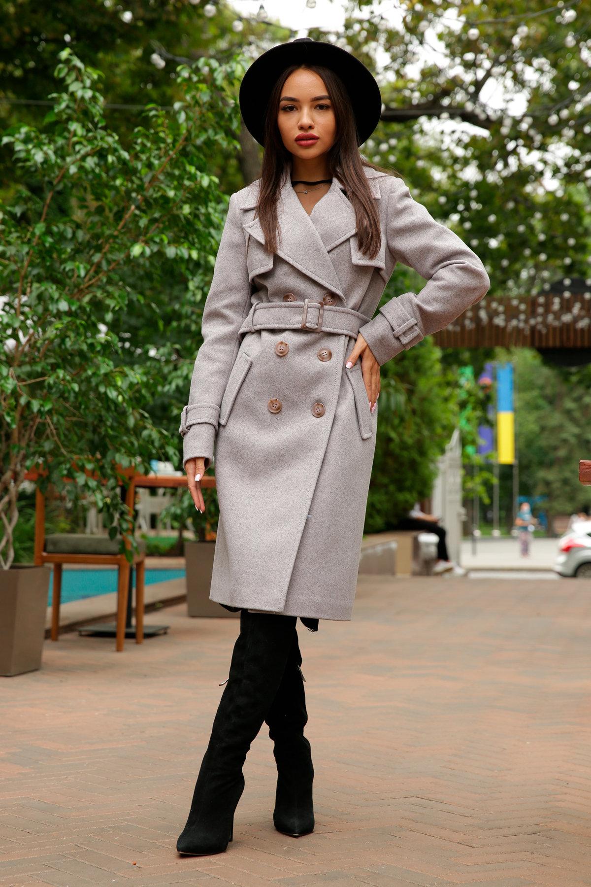 Пальто зимние женские от Modus Двубортное пальто демисезон Монте 8089