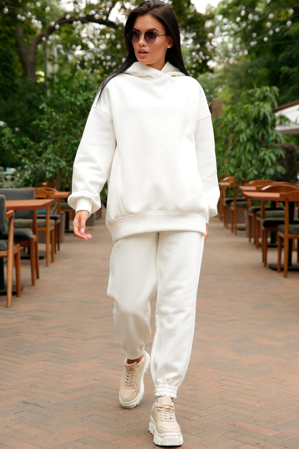 Марион костюм в  стиле Oversize  3х нитка 9651 АРТ. 46045 Цвет: Молоко - фото 4, интернет магазин tm-modus.ru