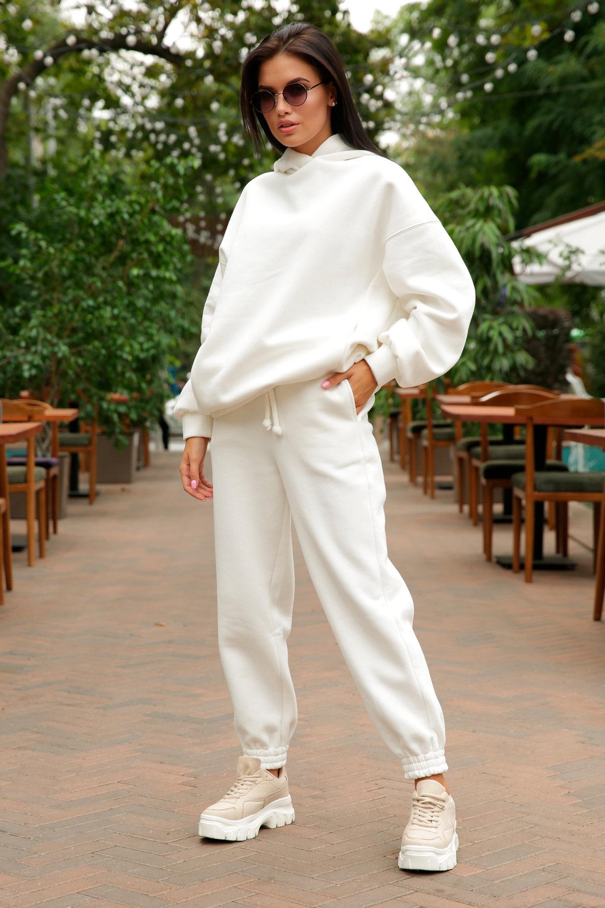 Марион костюм в  стиле Oversize  3х нитка 9651 АРТ. 46045 Цвет: Молоко - фото 5, интернет магазин tm-modus.ru
