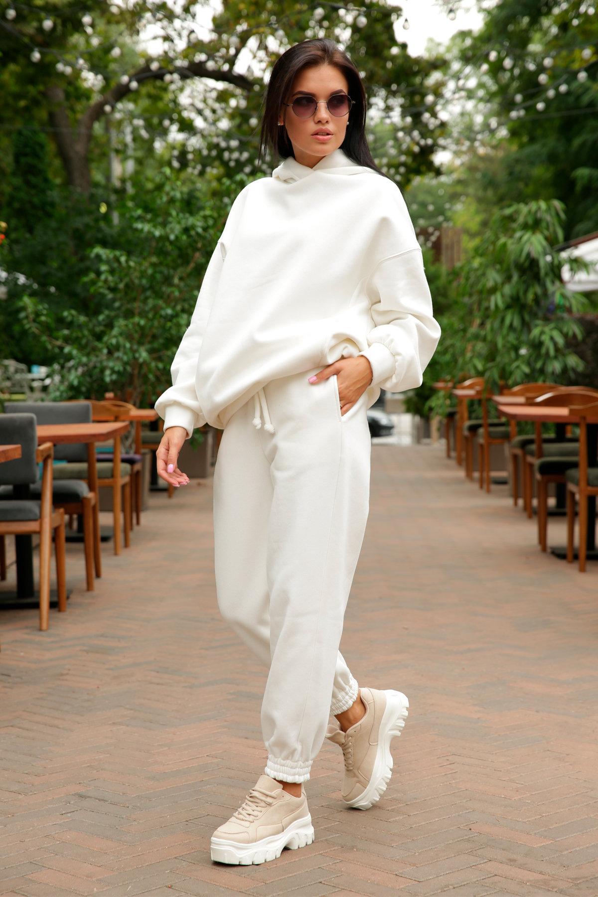 Марион костюм в  стиле Oversize  3х нитка 9651 АРТ. 46045 Цвет: Молоко - фото 6, интернет магазин tm-modus.ru
