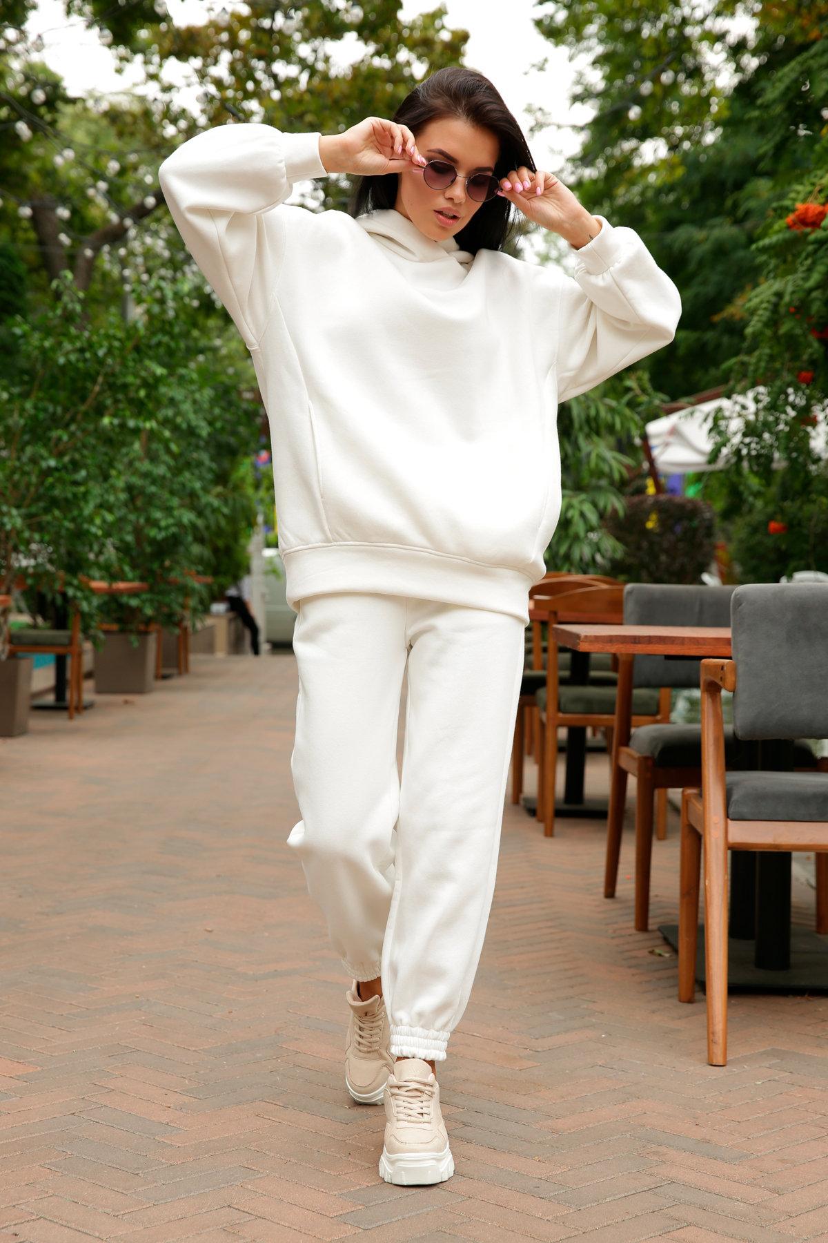 Марион костюм в  стиле Oversize  3х нитка 9651 АРТ. 46045 Цвет: Молоко - фото 8, интернет магазин tm-modus.ru