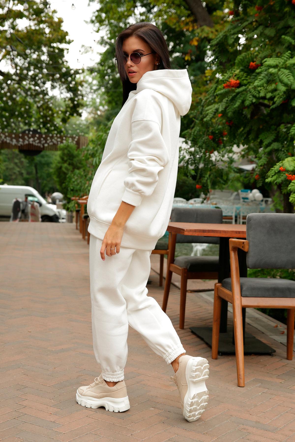 Марион костюм в  стиле Oversize  3х нитка 9651 АРТ. 46045 Цвет: Молоко - фото 11, интернет магазин tm-modus.ru