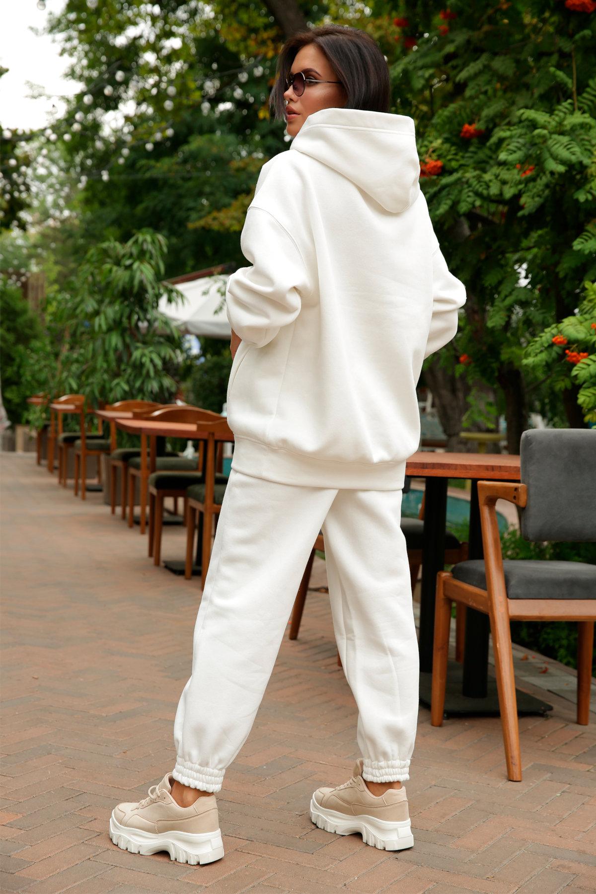 Марион костюм в  стиле Oversize  3х нитка 9651 АРТ. 46045 Цвет: Молоко - фото 12, интернет магазин tm-modus.ru