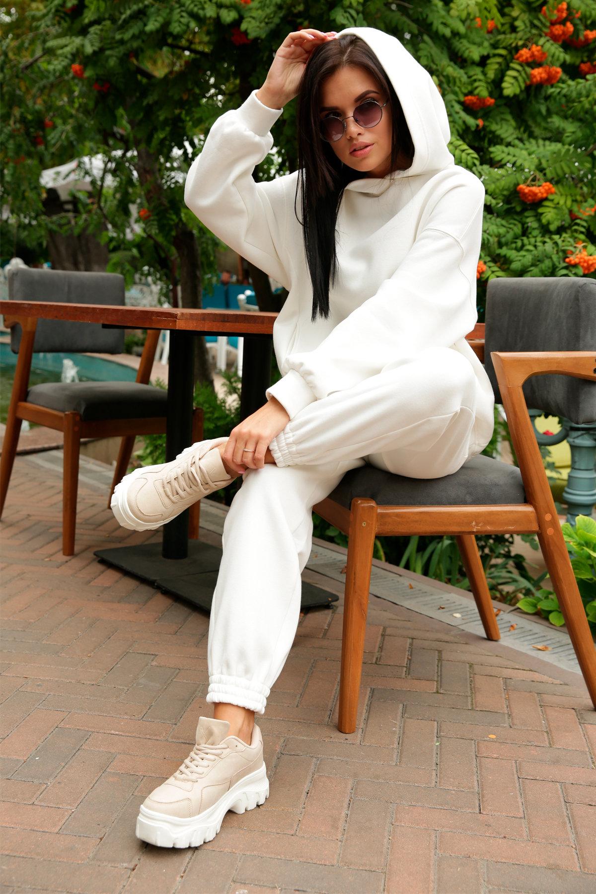Марион костюм в  стиле Oversize  3х нитка 9651 АРТ. 46045 Цвет: Молоко - фото 14, интернет магазин tm-modus.ru