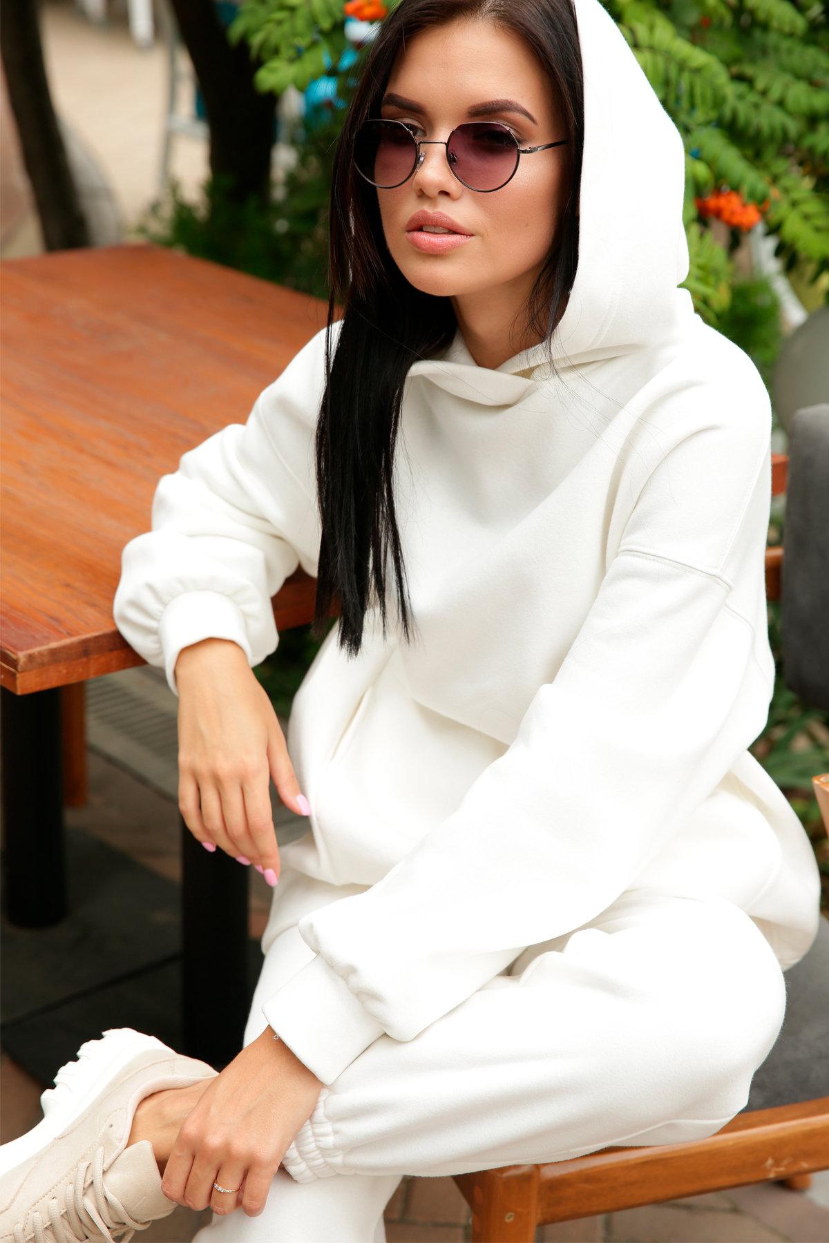 Марион костюм в  стиле Oversize  3х нитка 9651 АРТ. 46045 Цвет: Молоко - фото 15, интернет магазин tm-modus.ru