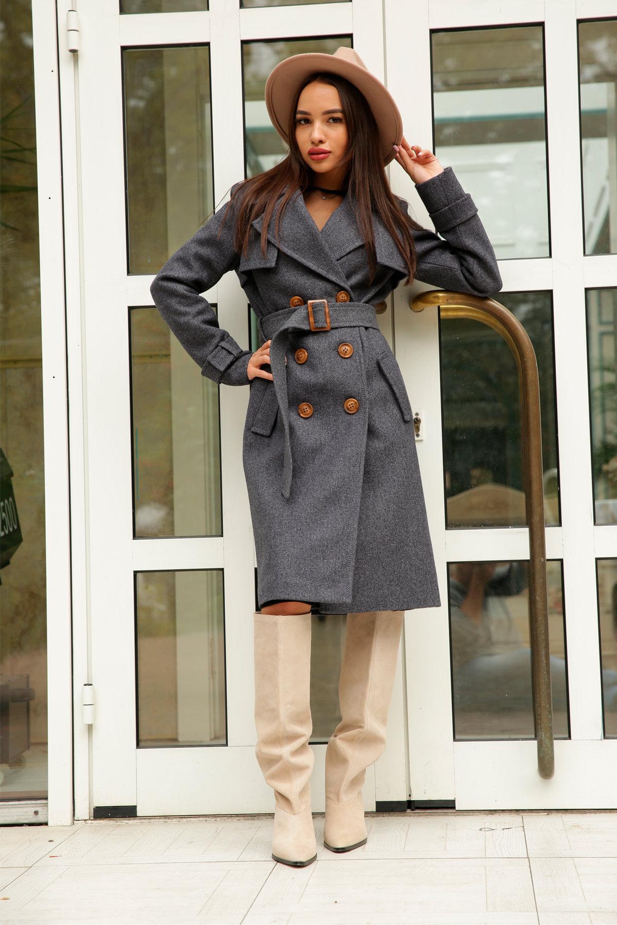 Двубортное пальто демисезон Монте 8089 АРТ. 44032 Цвет: т. синий 543 - фото 9, интернет магазин tm-modus.ru