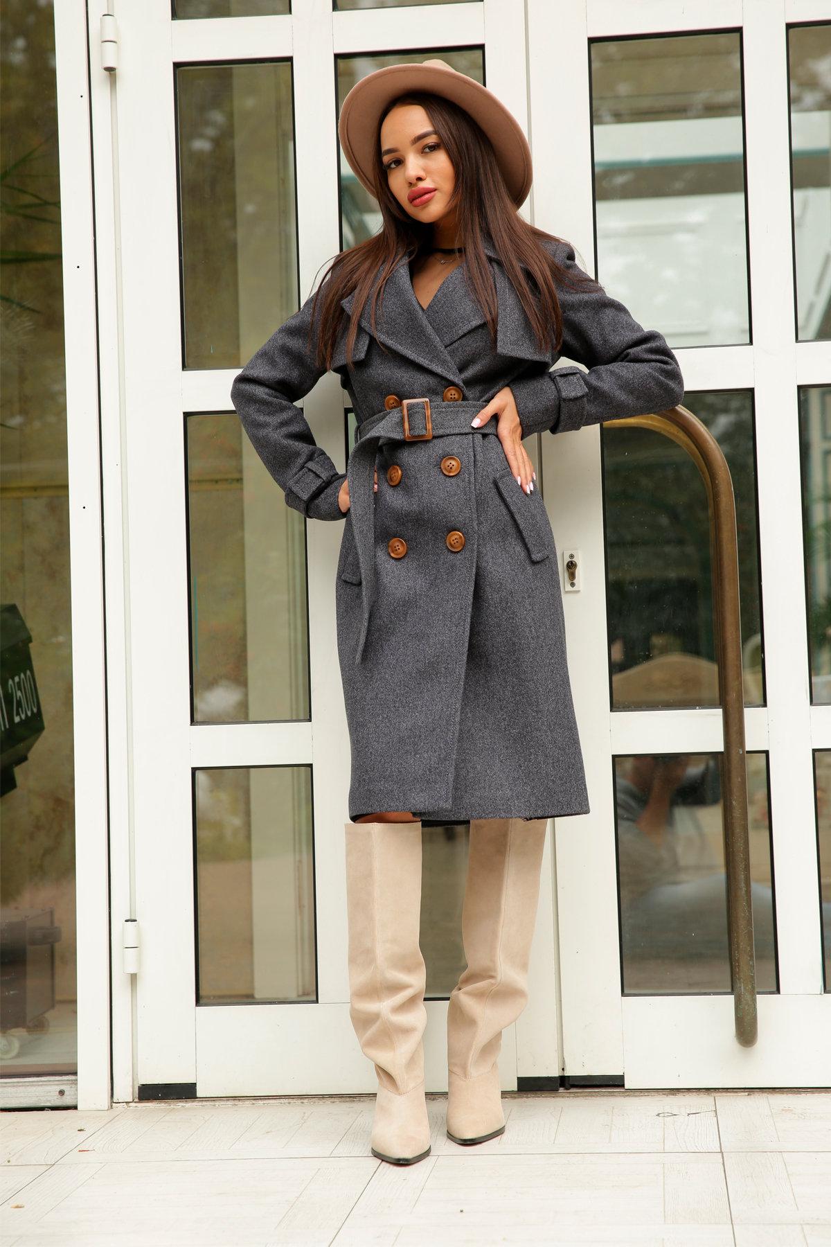 Двубортное пальто демисезон Монте 8089 АРТ. 44032 Цвет: т. синий 543 - фото 11, интернет магазин tm-modus.ru