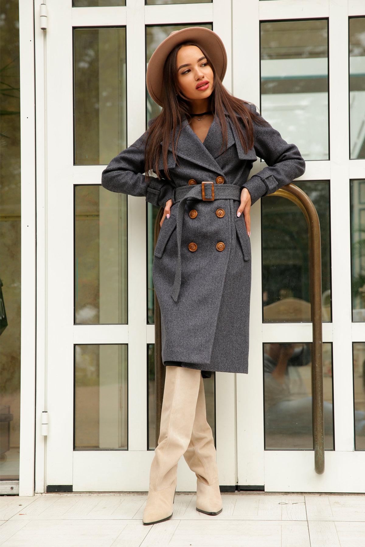 Двубортное пальто демисезон Монте 8089 АРТ. 44032 Цвет: т. синий 543 - фото 12, интернет магазин tm-modus.ru