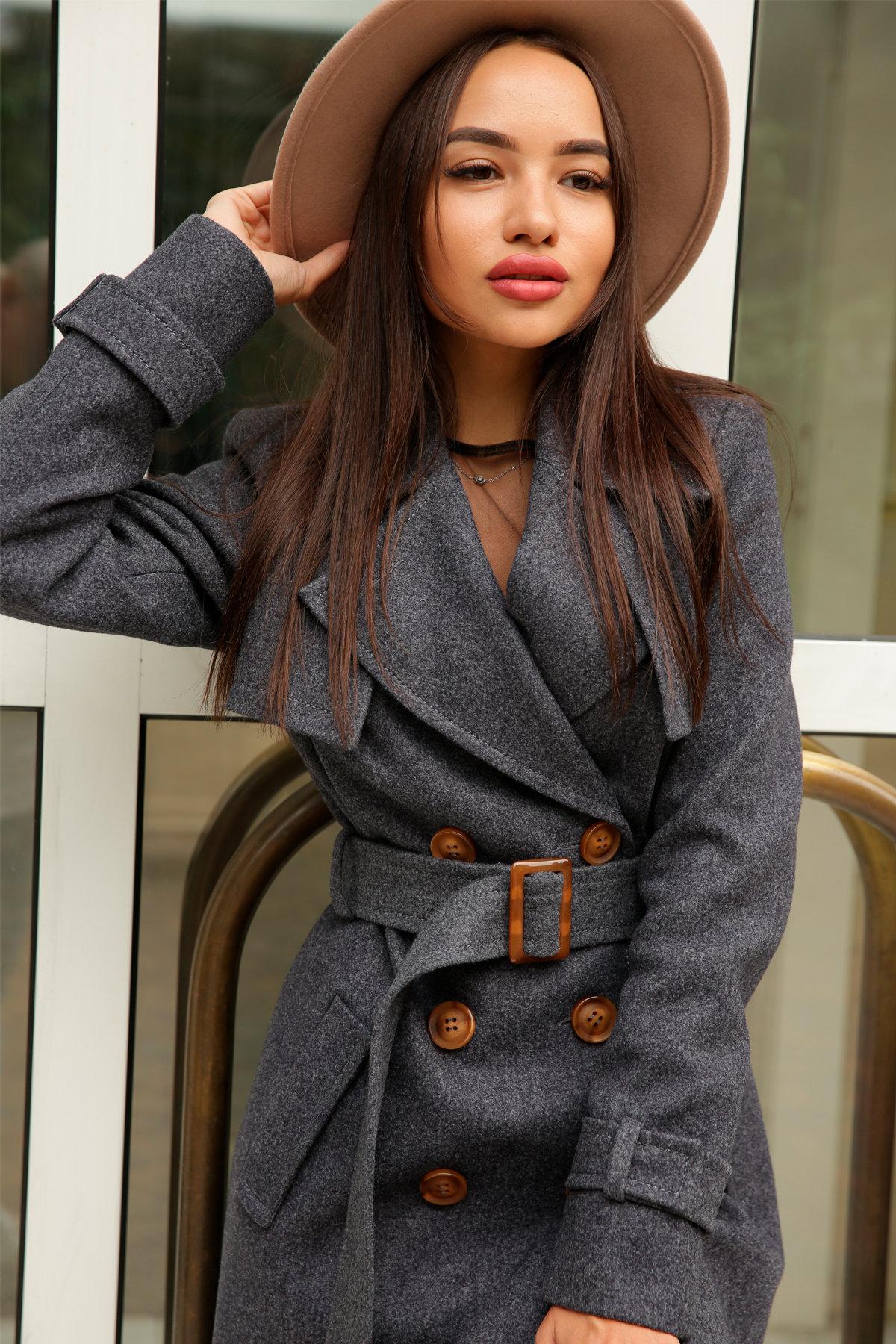 Двубортное пальто демисезон Монте 8089 АРТ. 44032 Цвет: т. синий 543 - фото 14, интернет магазин tm-modus.ru