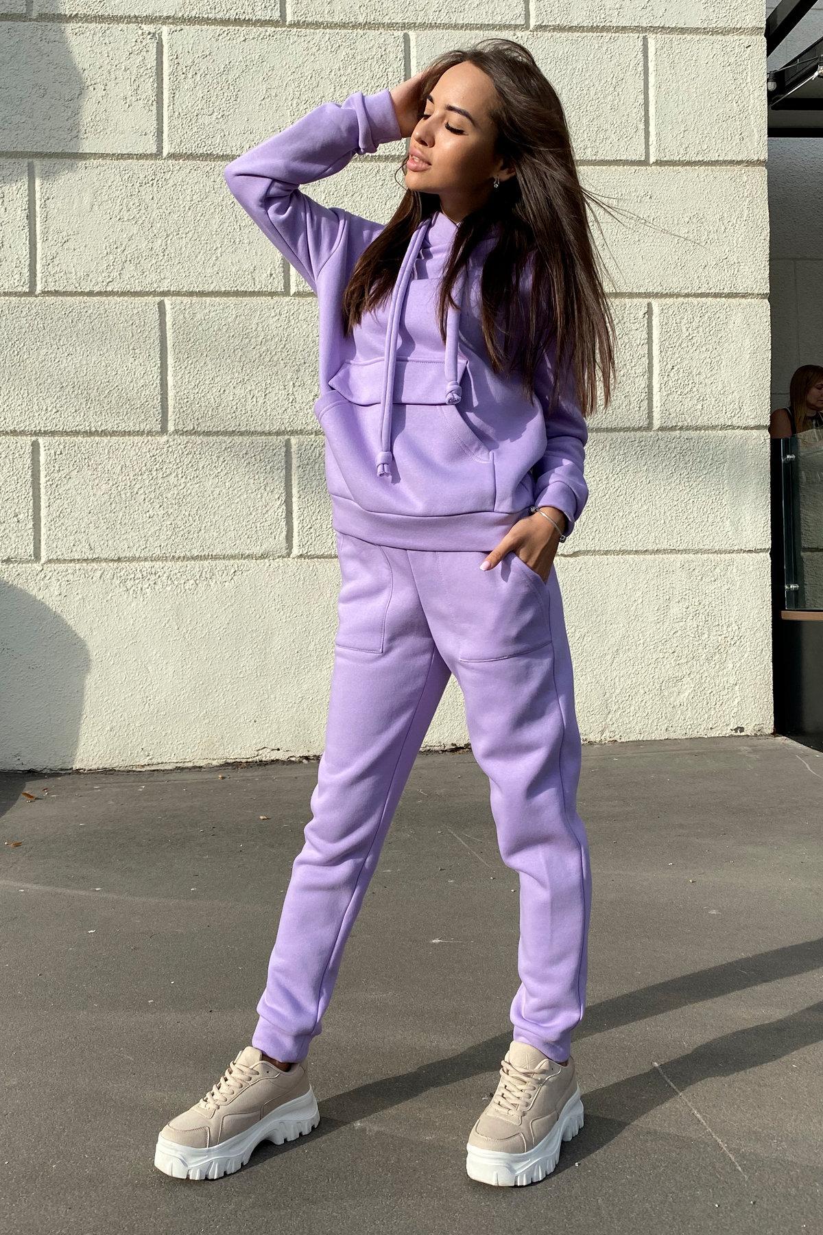 Бруклин  прогулочный костюм 3х нитка с начесом  9663 АРТ. 46097 Цвет: лаванда светлая - фото 5, интернет магазин tm-modus.ru