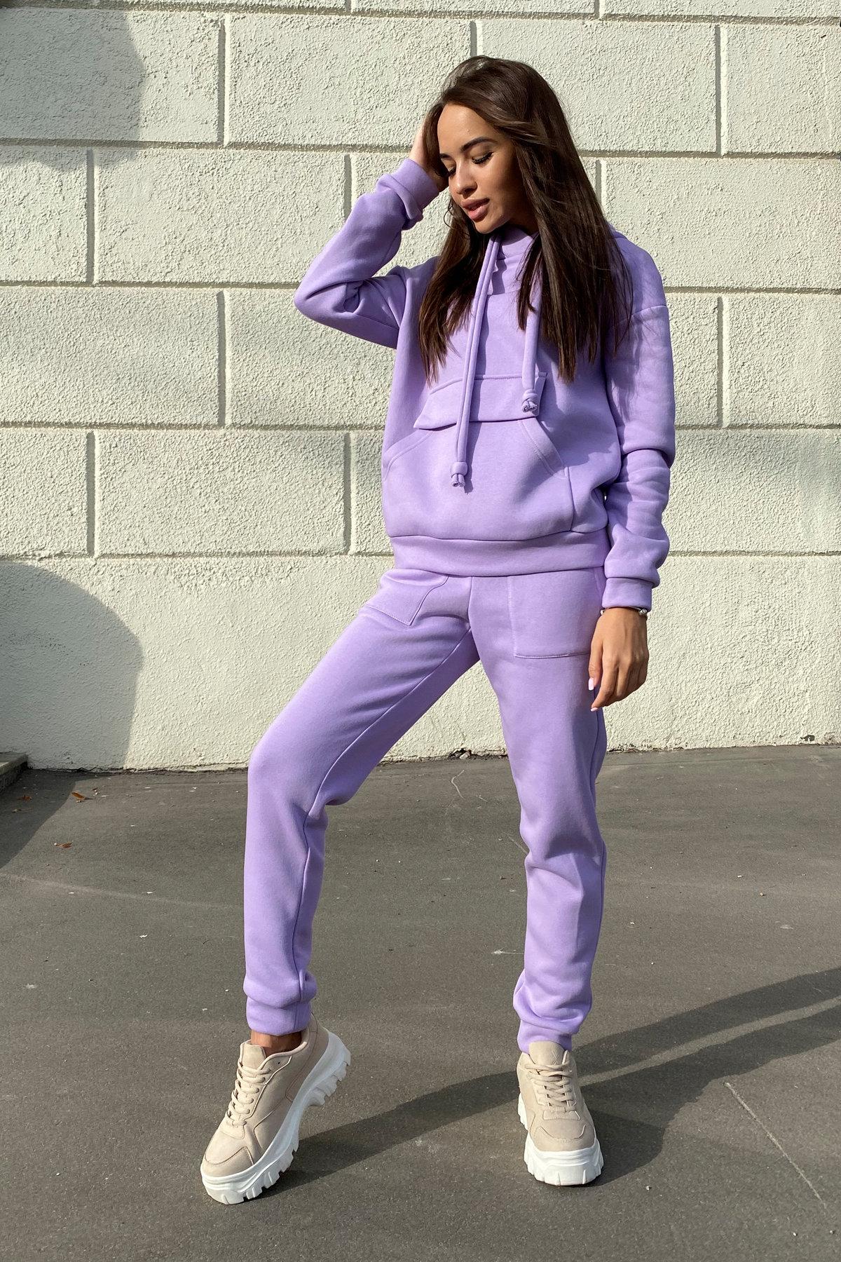 Бруклин  прогулочный костюм 3х нитка с начесом  9663 АРТ. 46097 Цвет: лаванда светлая - фото 6, интернет магазин tm-modus.ru