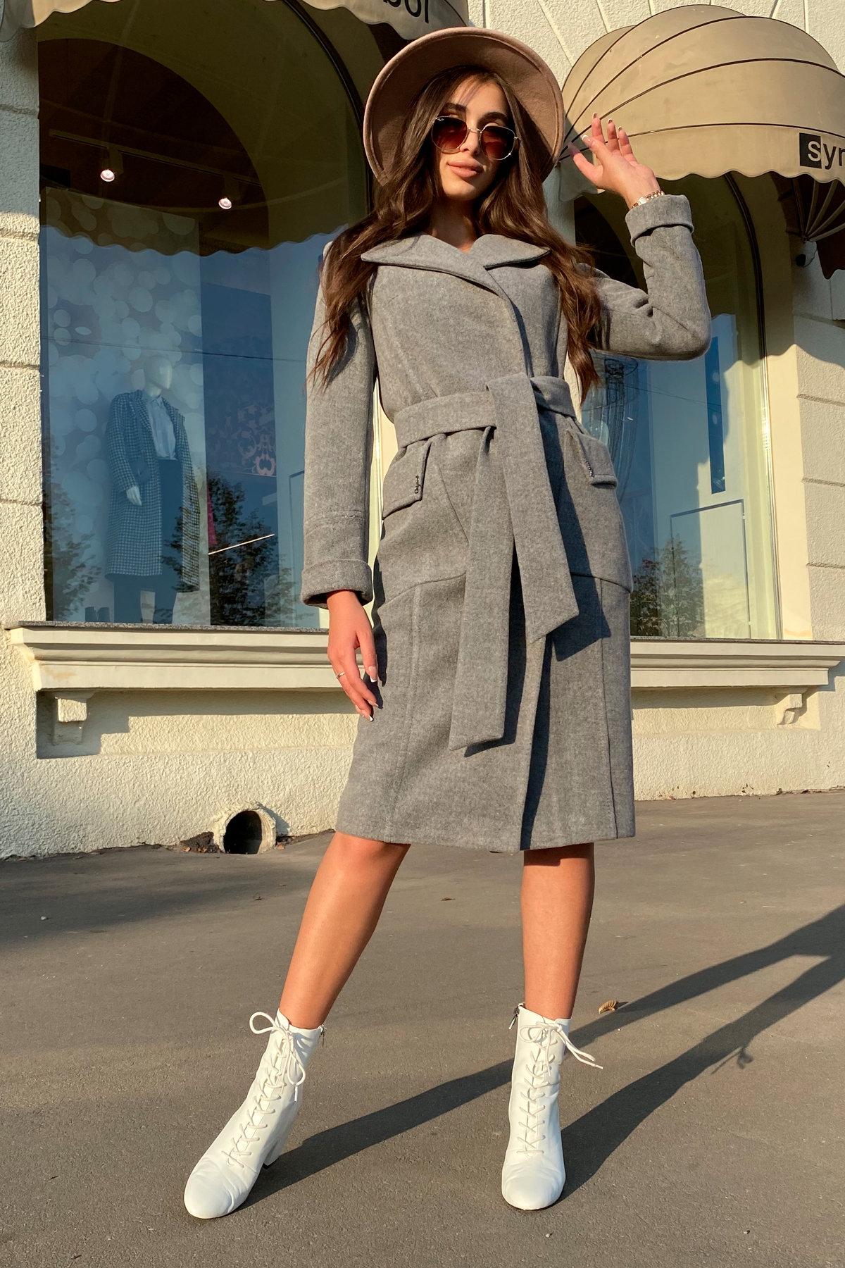 Зимнее пальто с мехом Стейси 5647 АРТ. 37855 Цвет: Серый 18 - фото 12, интернет магазин tm-modus.ru