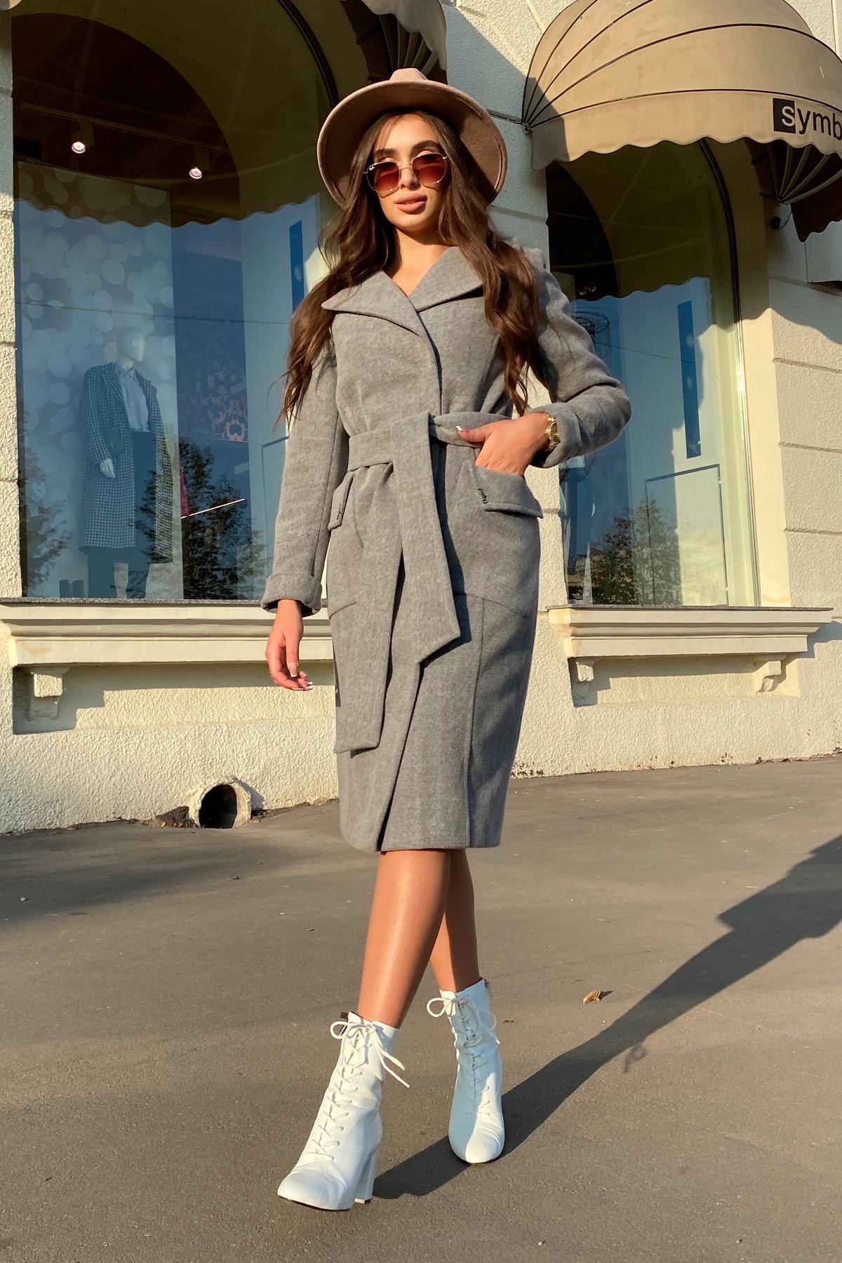 Зимнее пальто с мехом Стейси 5647 АРТ. 37855 Цвет: Серый 18 - фото 13, интернет магазин tm-modus.ru