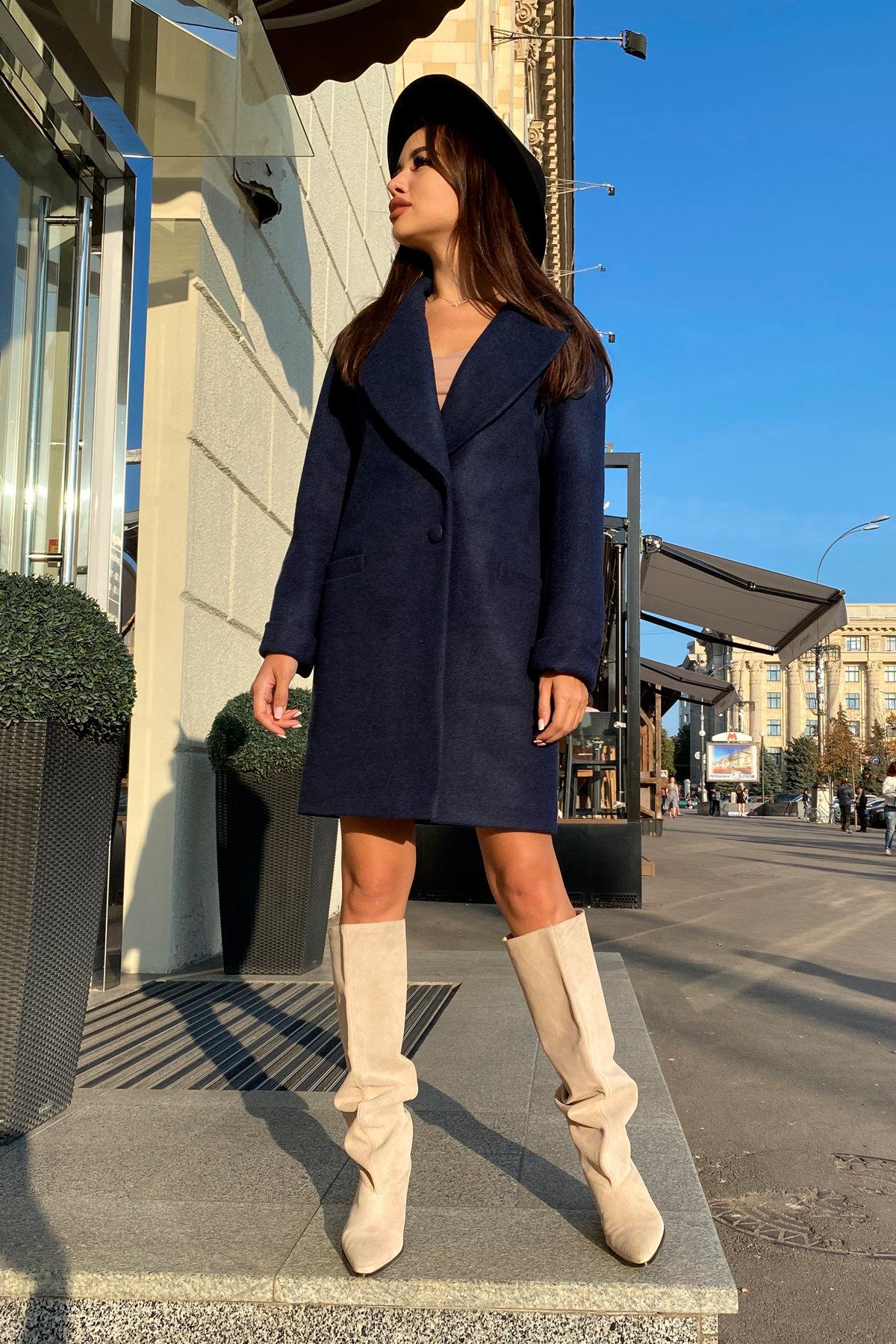 Пальто Вива 7868 Цвет: Темно-синий 17