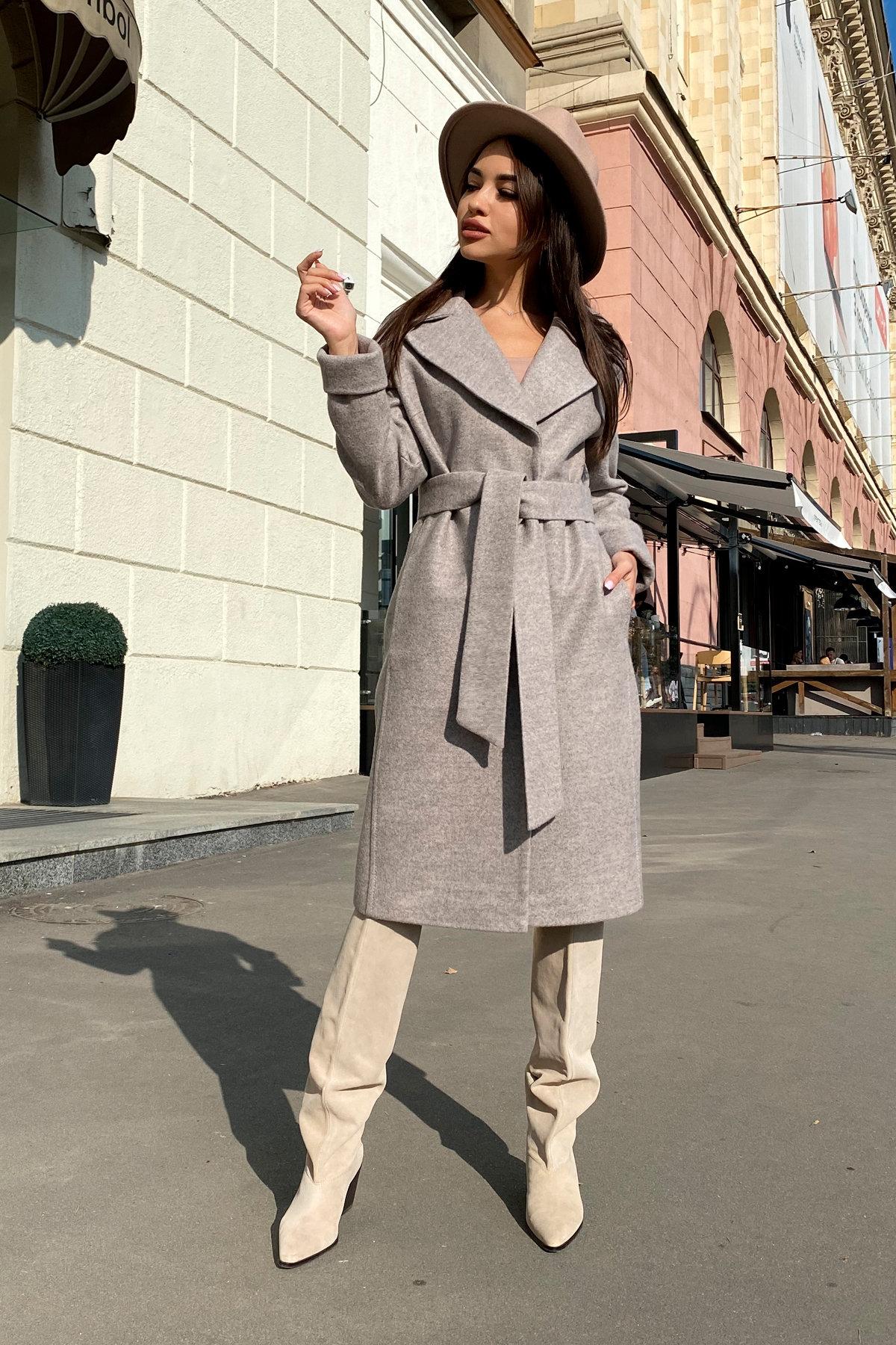 Демисезонное пальто Месси 6226 Цвет: Бежевый 31