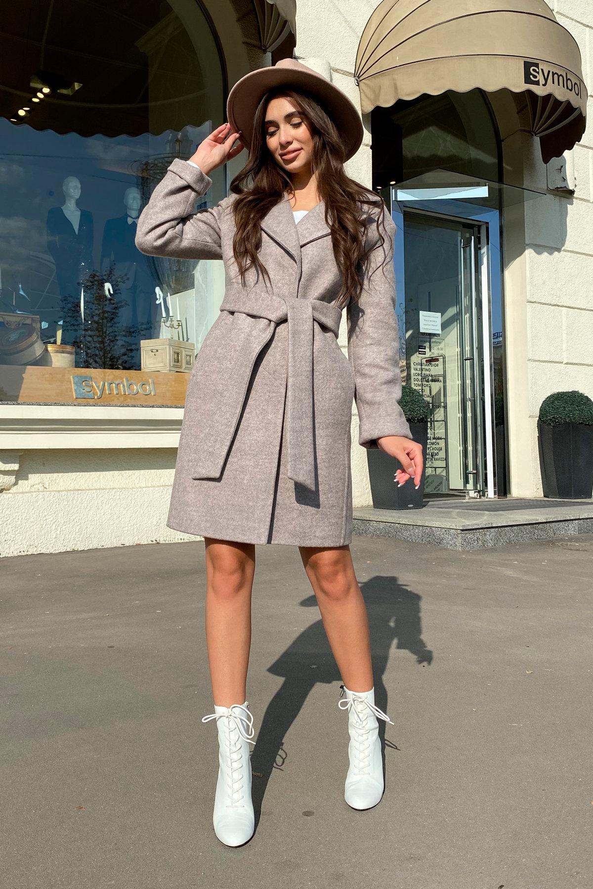 Пальто Месси 6259 АРТ. 41054 Цвет: Бежевый 31 - фото 2, интернет магазин tm-modus.ru